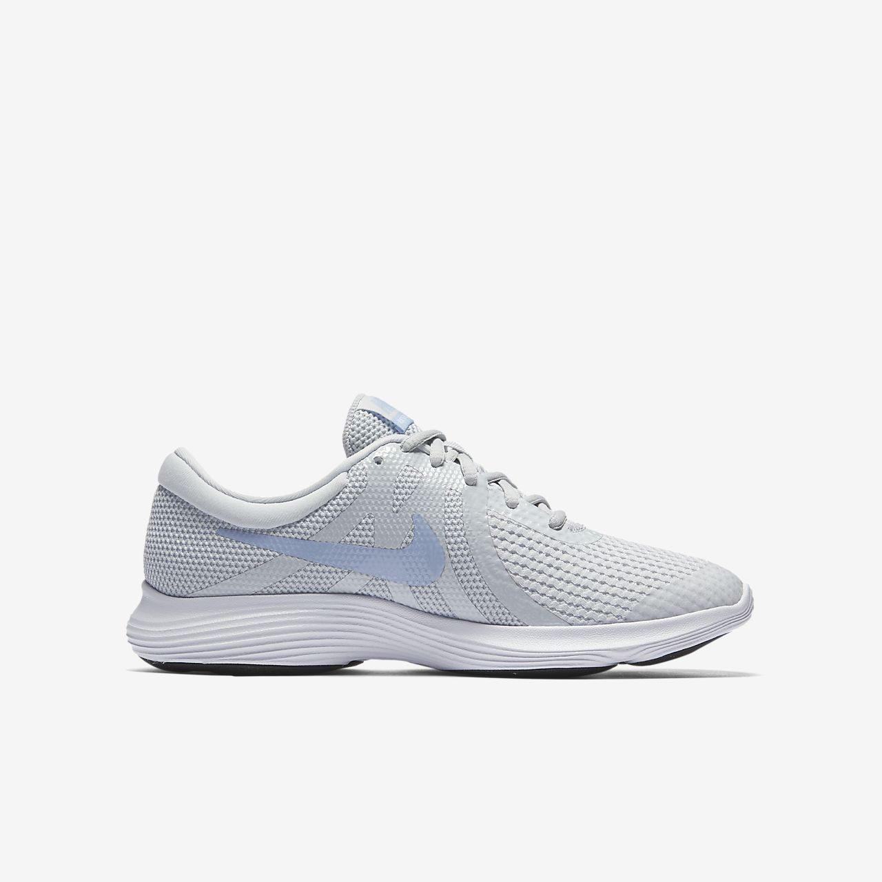 Nike Revolution 4 Big Laufschuh für ältere Kinder - Silver 5DCb1wo