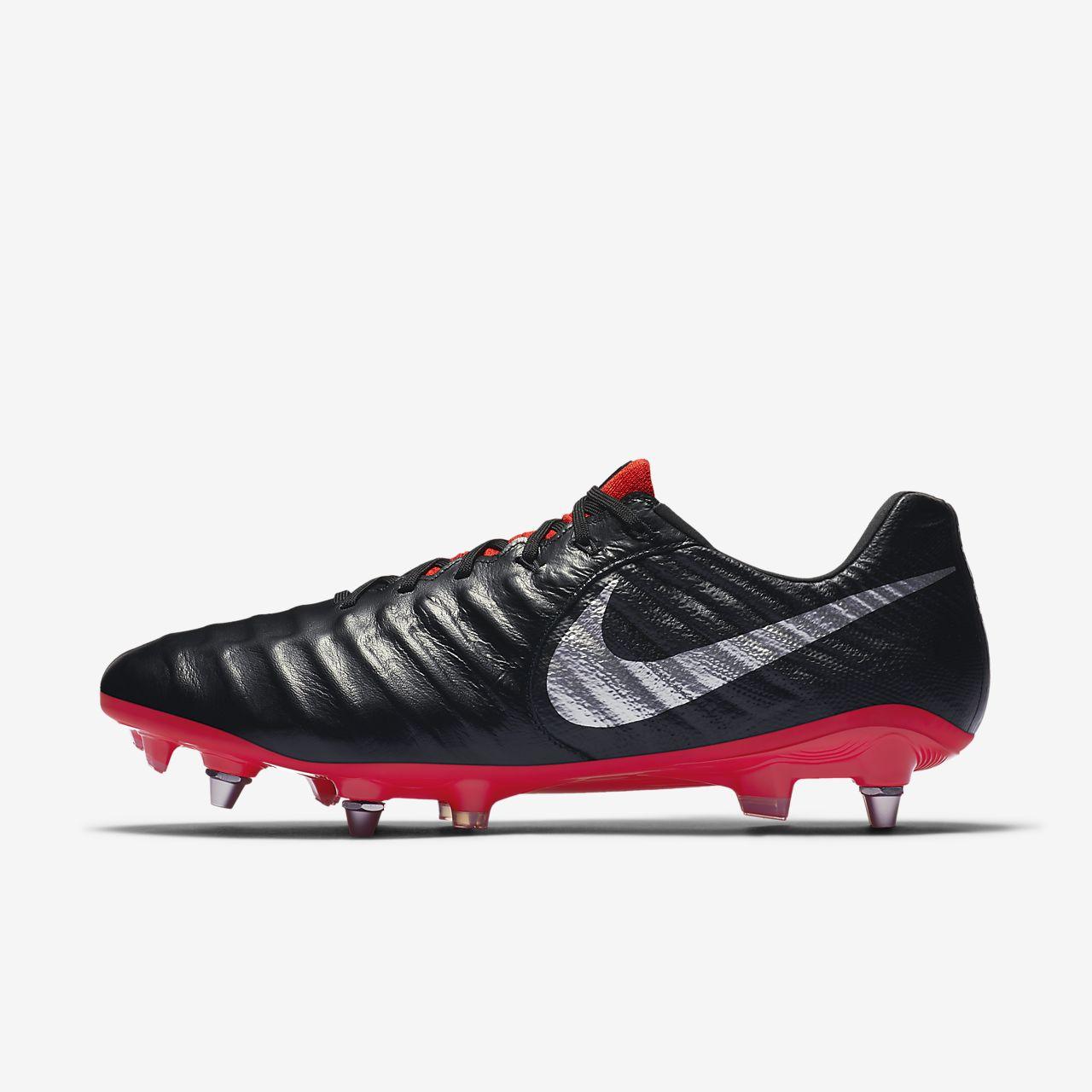 Nike Tiempo Legend 7 Elite SG-Pro Botas de fútbol profesionales para  terreno blando bc8638340c332