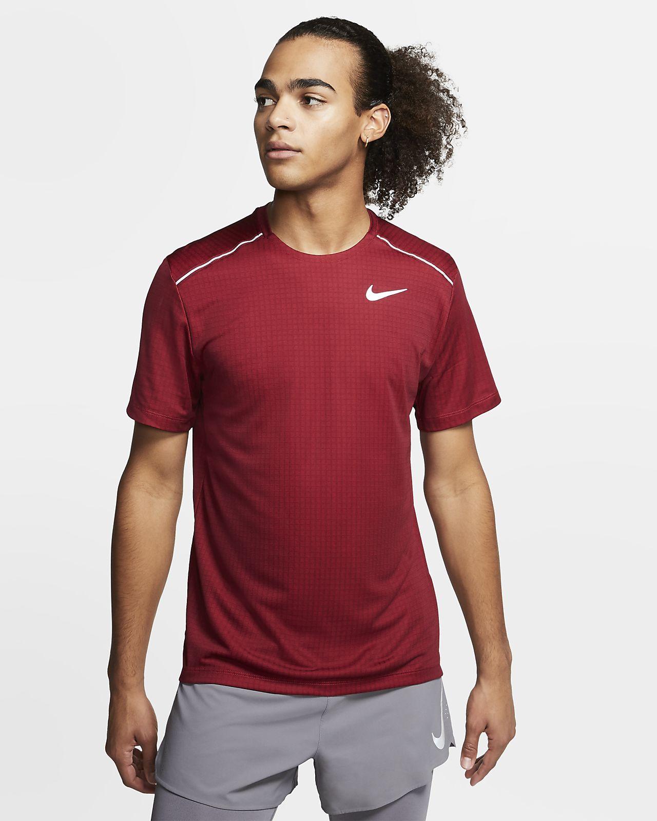 Pánské běžecké tričko s krátkým rukávem Nike Miler
