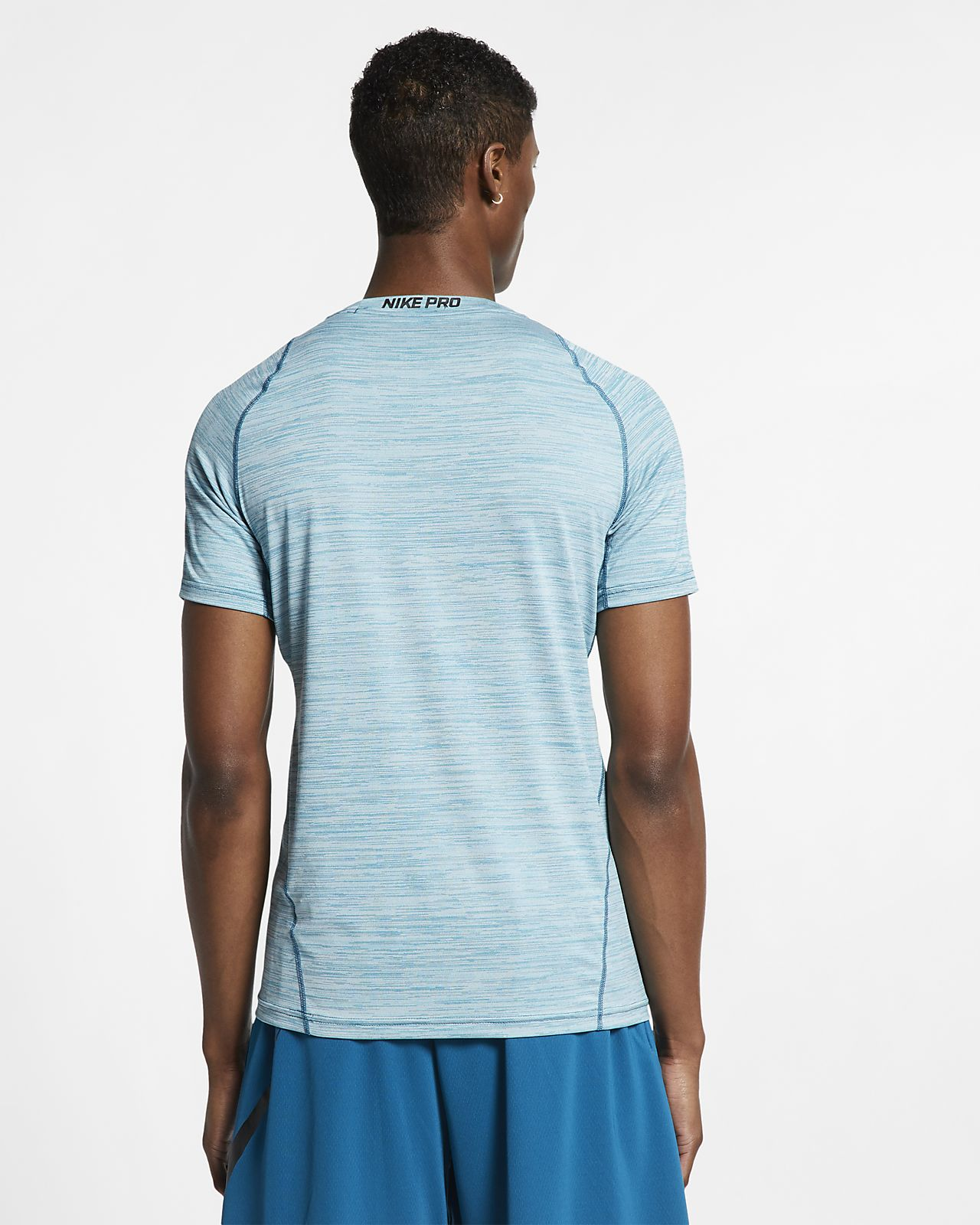 buy popular 38316 730b5 ... Nike Pro Men s Short-Sleeve Fitted Top
