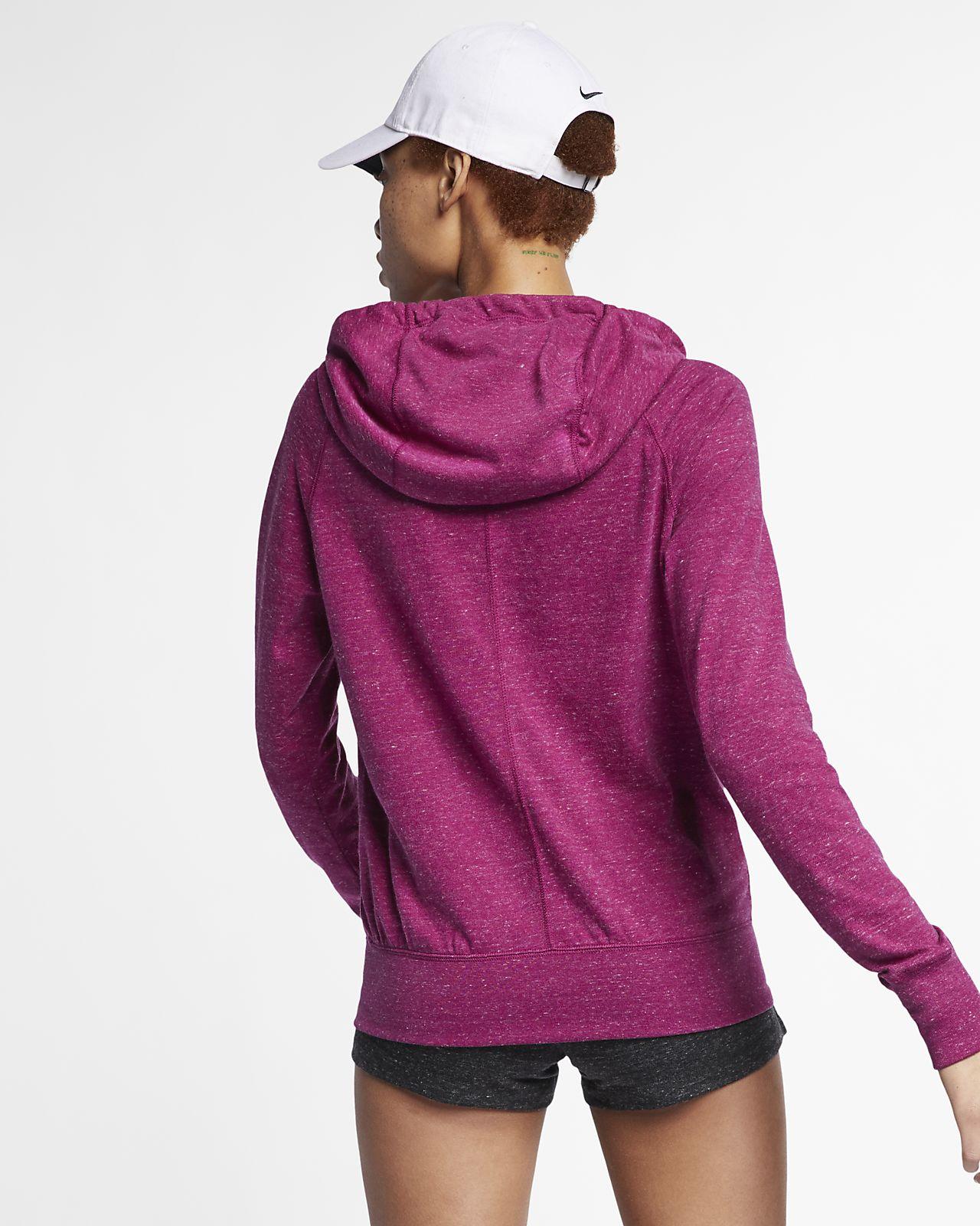 de8c7d99722 Nike Sportswear Gym Vintage Women's Full-Zip Hoodie. Nike.com