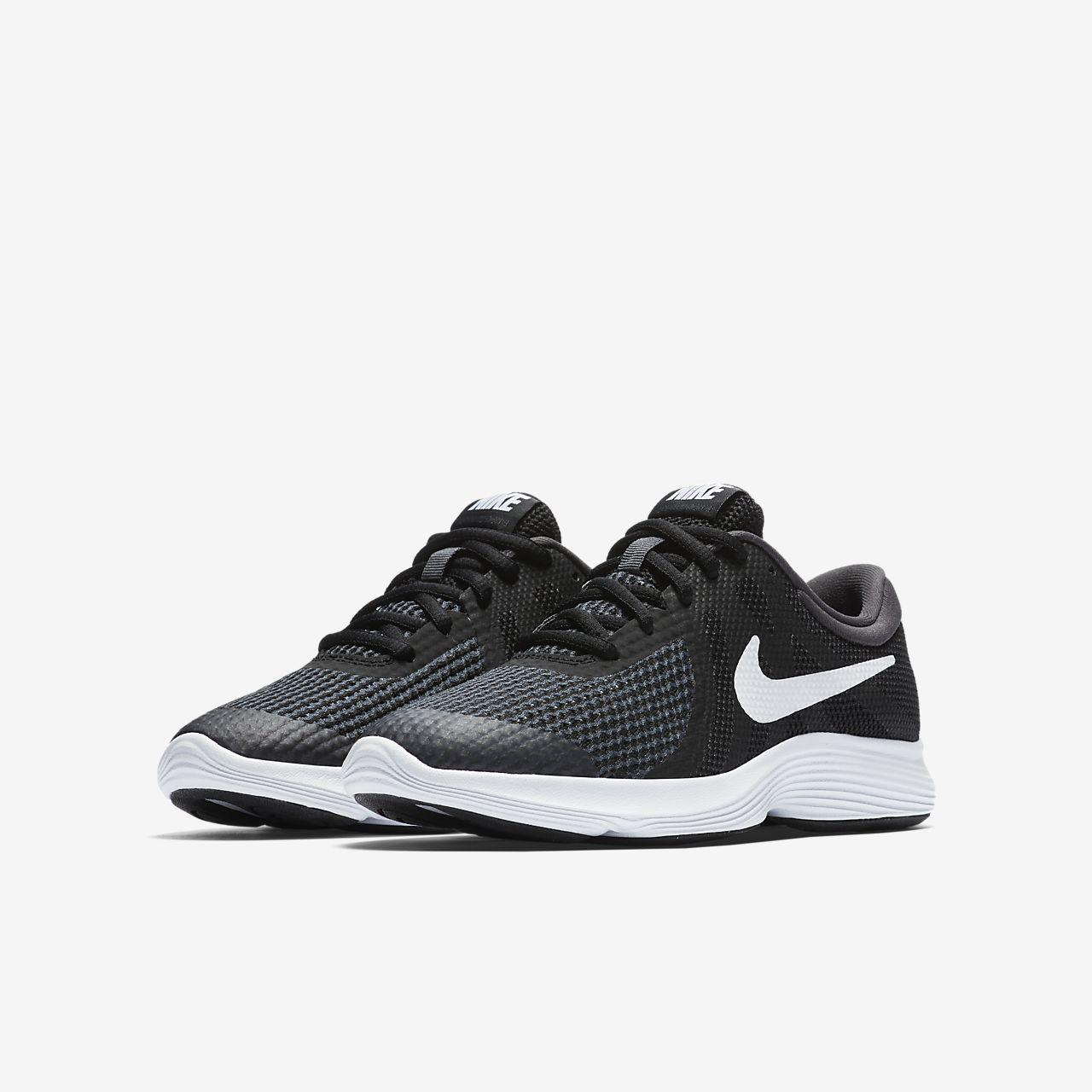 Nike Revolution 4 Big Laufschuh für ältere Kinder - Schwarz yP6vKmOL