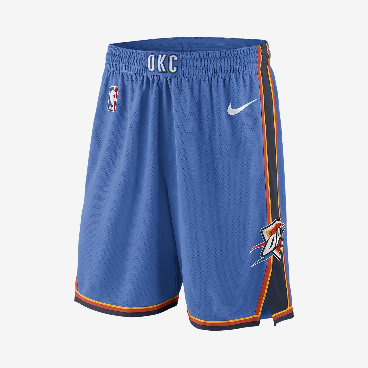 Oklahoma City Thunder Nike Icon Edition Swingman Men's NBA Shorts