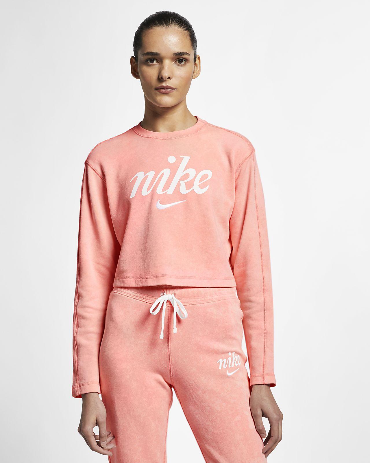 Nike Sportswear Kısaltılmış Kadın Crew Üst