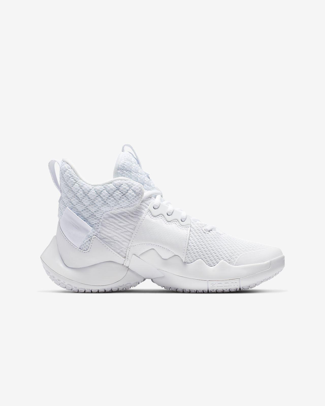 e7c62fa97 Jordan 'Why Not?' Zer0.2 Older Kids' Basketball Shoe. Nike.com CA