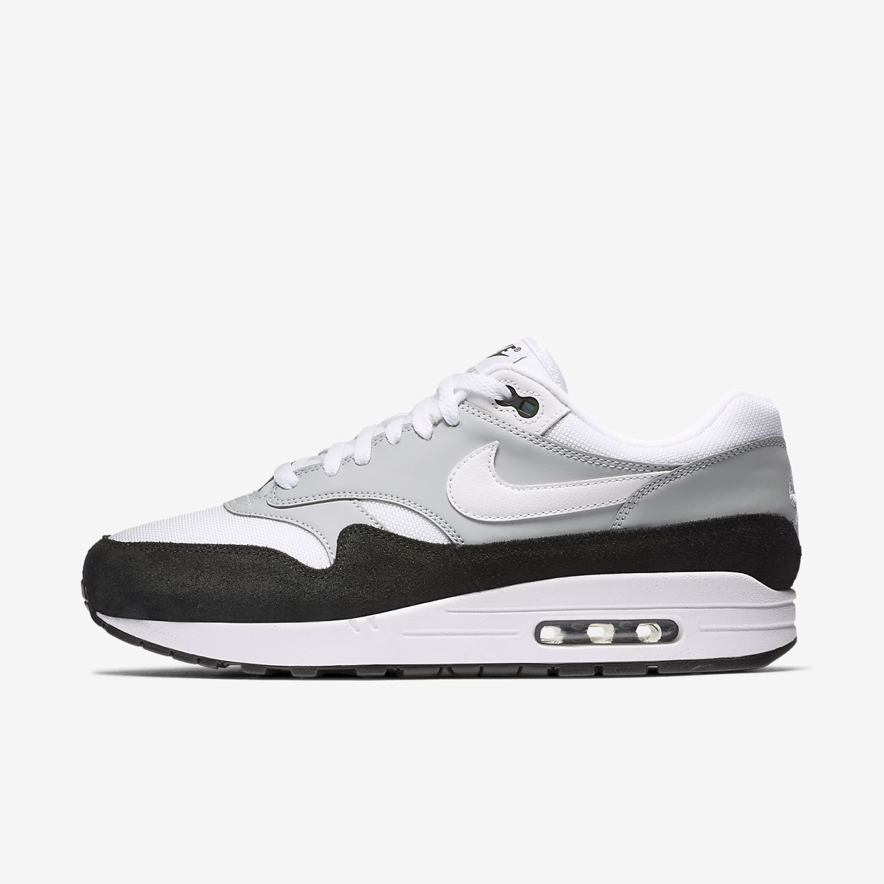 nike air max 1 grey heren