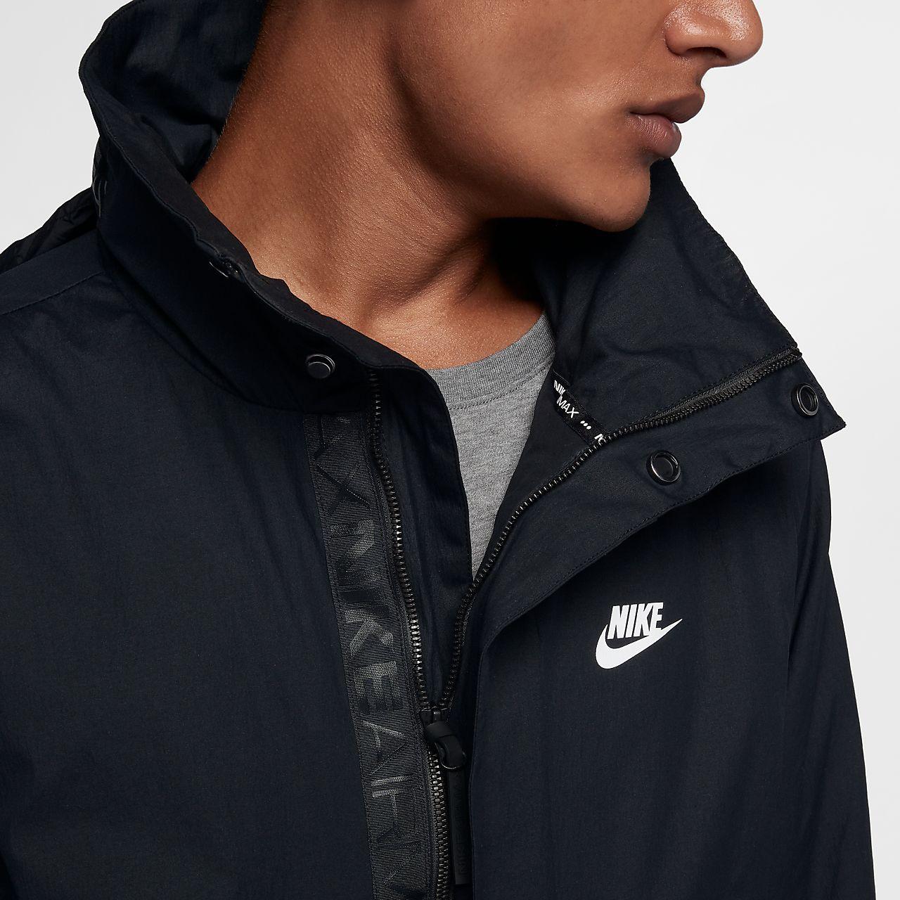 nike sportswear jacket anorak woven air hybrid