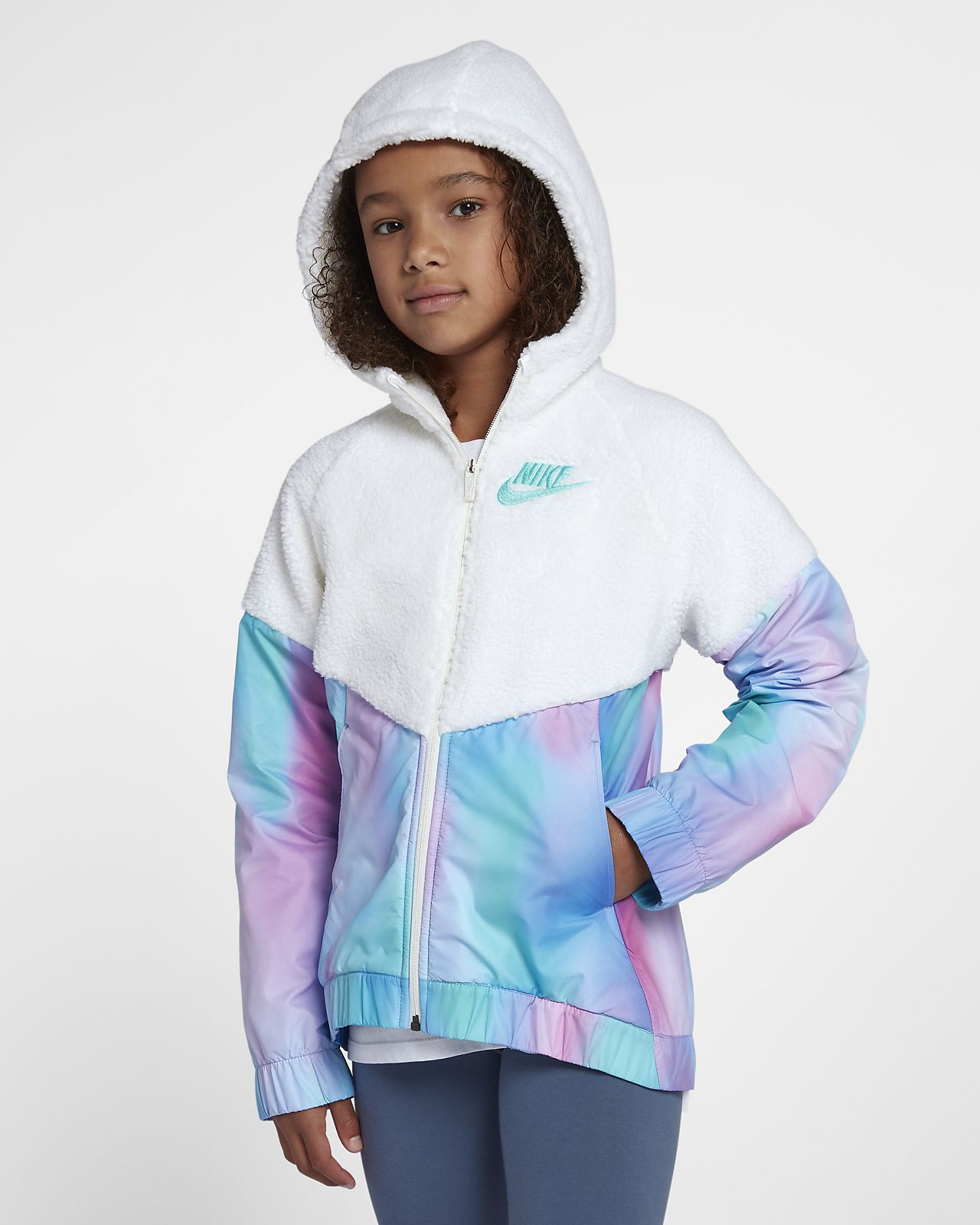 Nike Sportswear Windrunner Big Kids  (Girls ) Jacket. Nike.com 3292294ed
