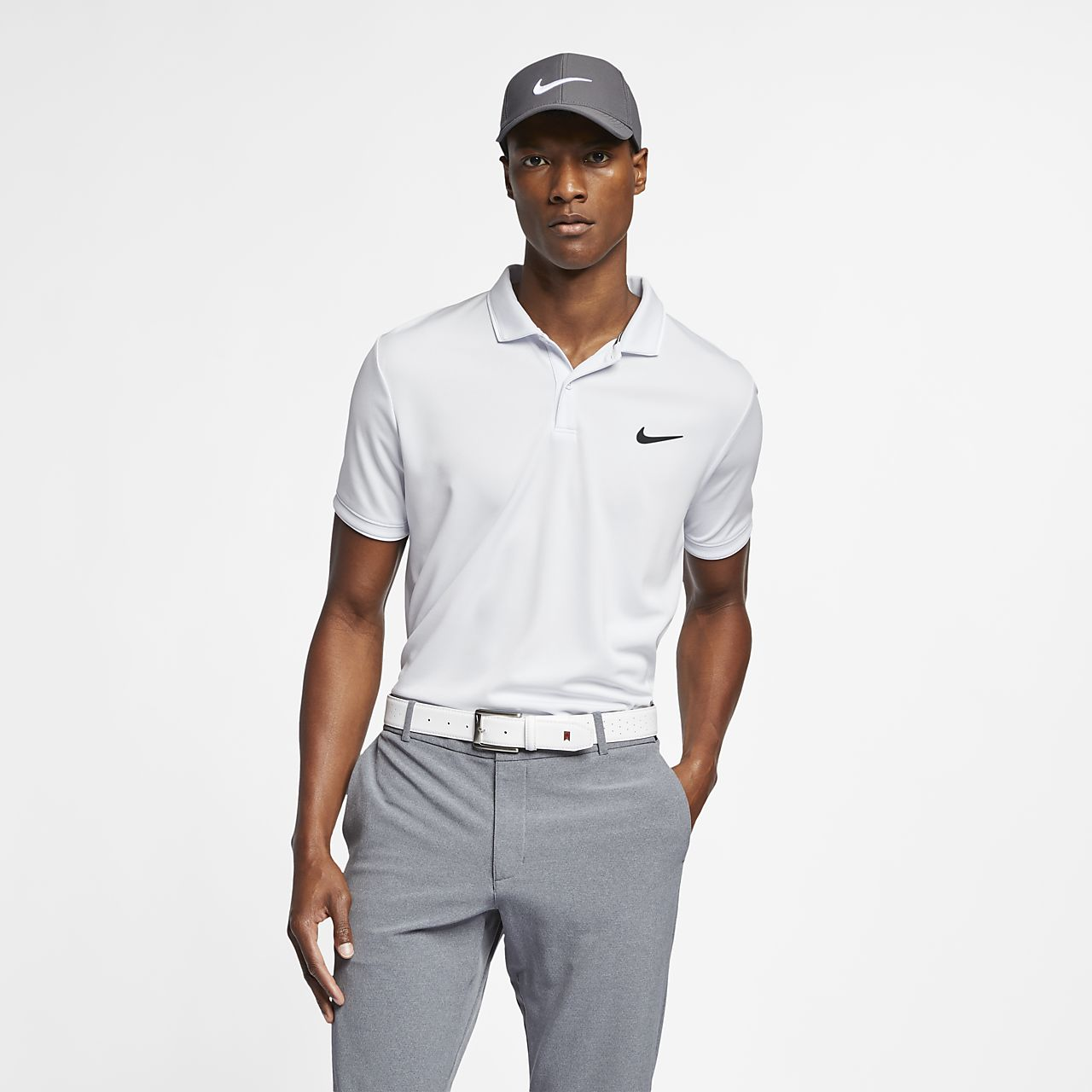NikeCourt Dri-FIT Team Men's Tennis Polo