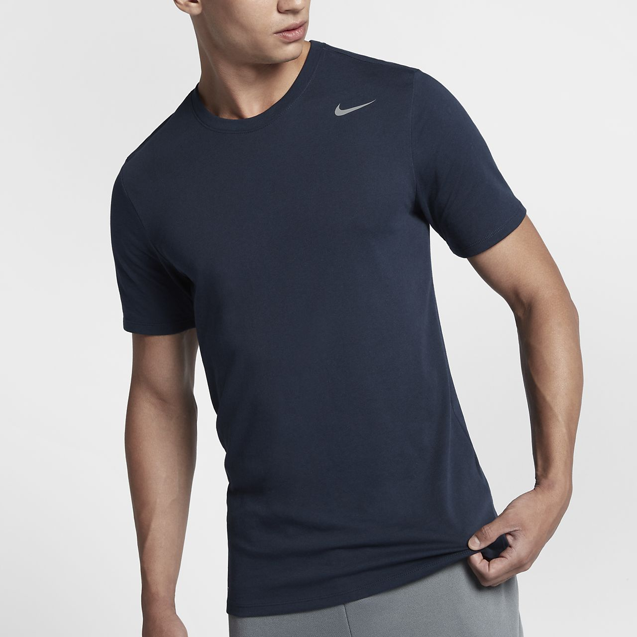 ... Nike Dri-FIT Men's Training Short-Sleeve T-Shirt