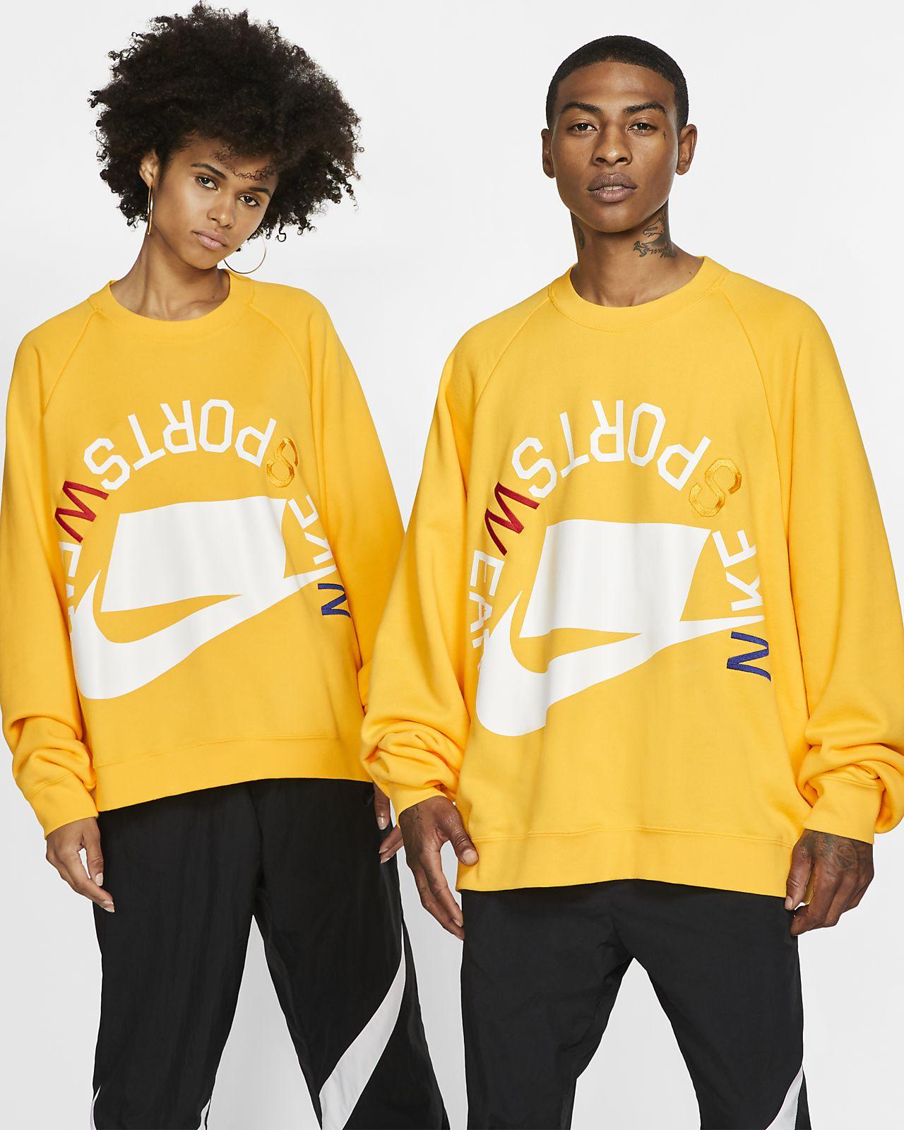 Nike Sportswear NSW Shirt van sweatstof met ronde hals