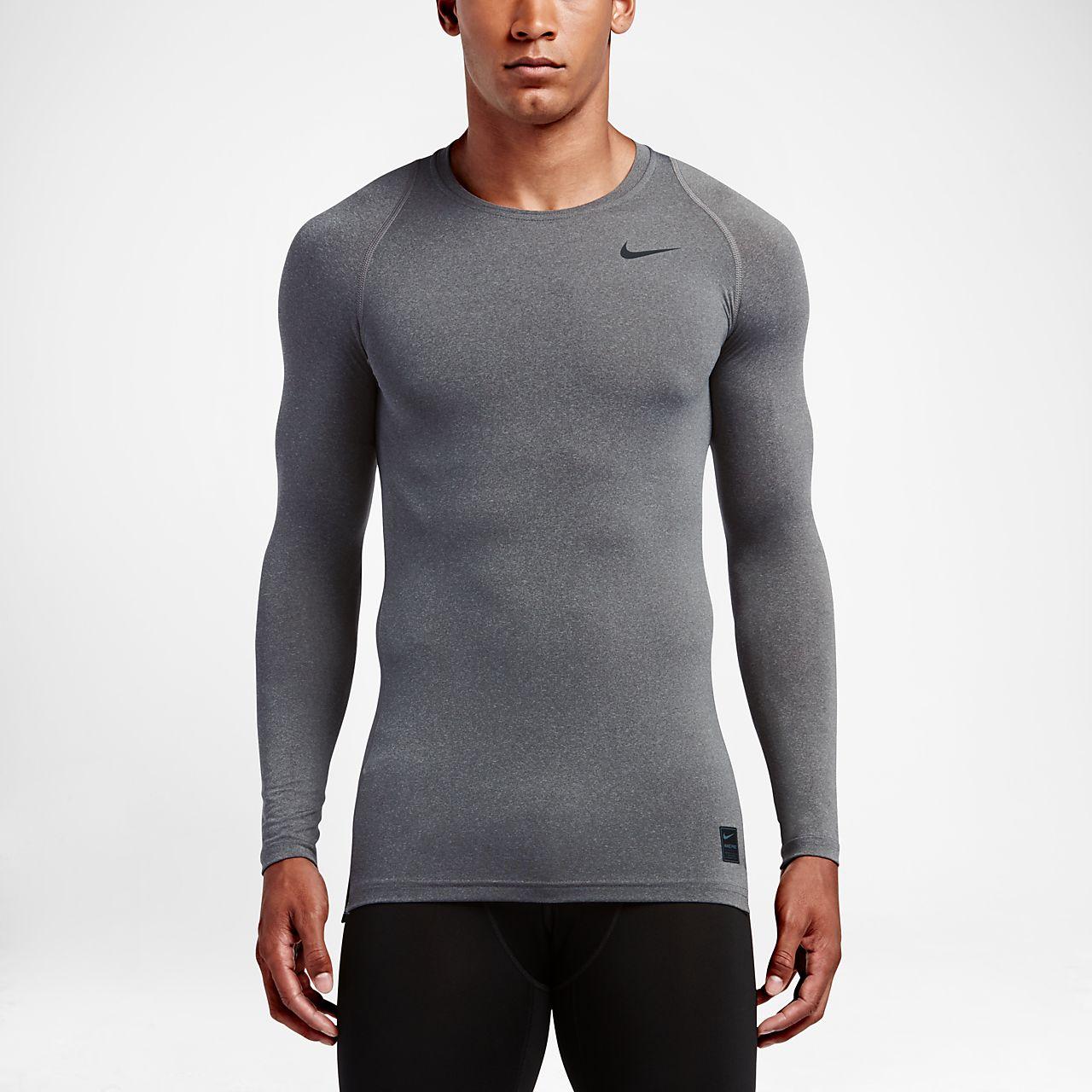 nike compression shirt herren rot