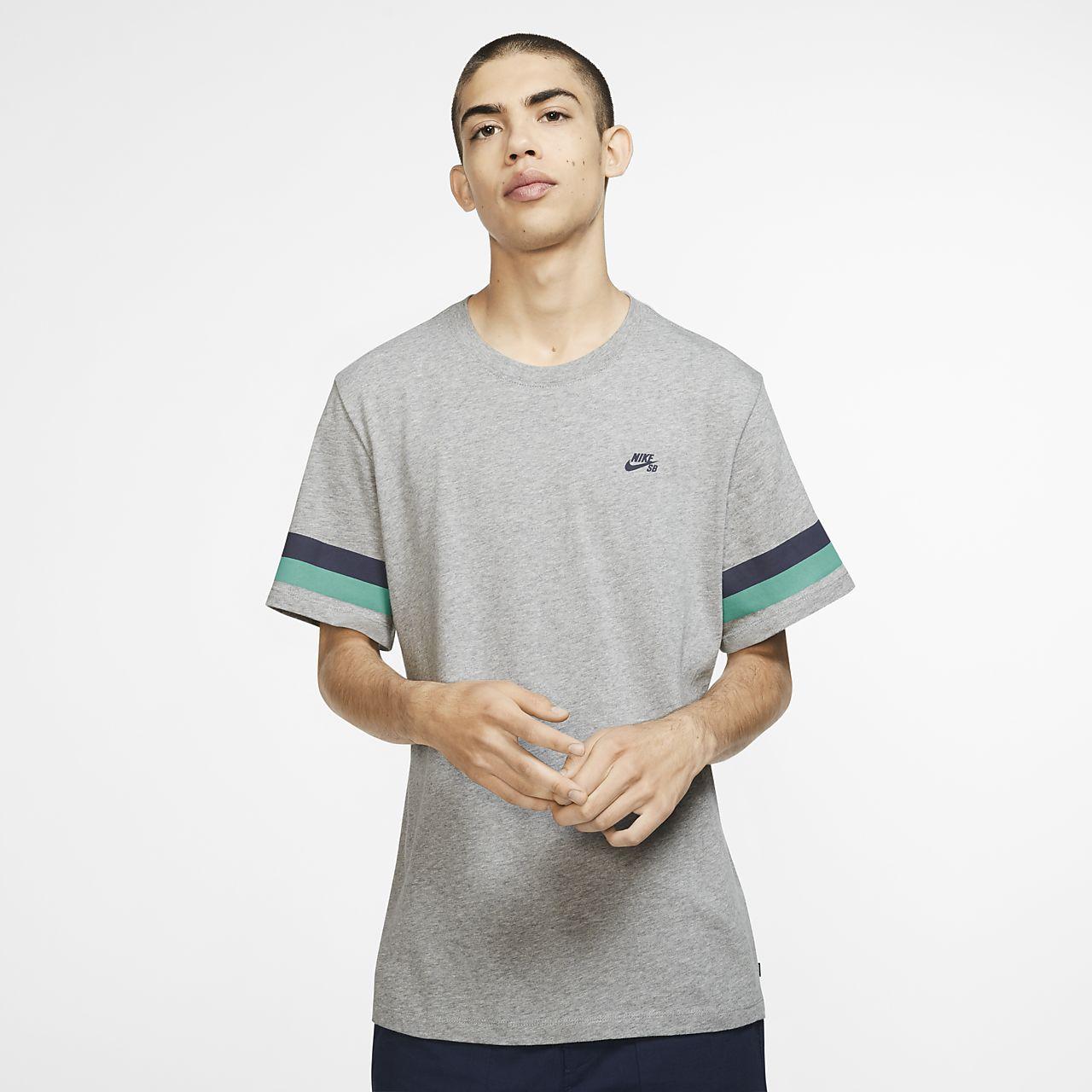 accf0191db3 Nike SB Men s Striped Skate T-Shirt. Nike.com AT