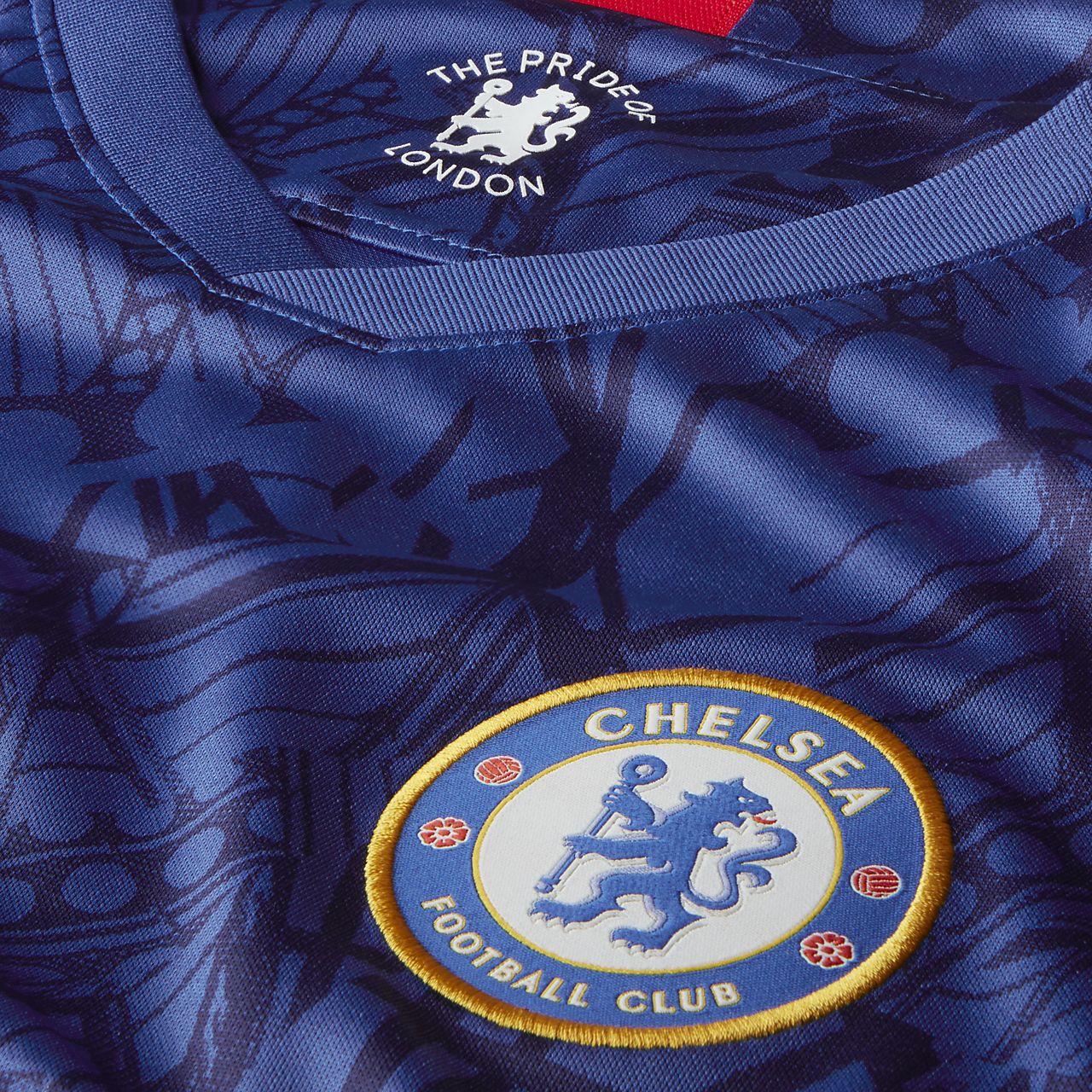 Chelsea FC 201920 Stadium Home Men's Long Sleeve Soccer Jersey