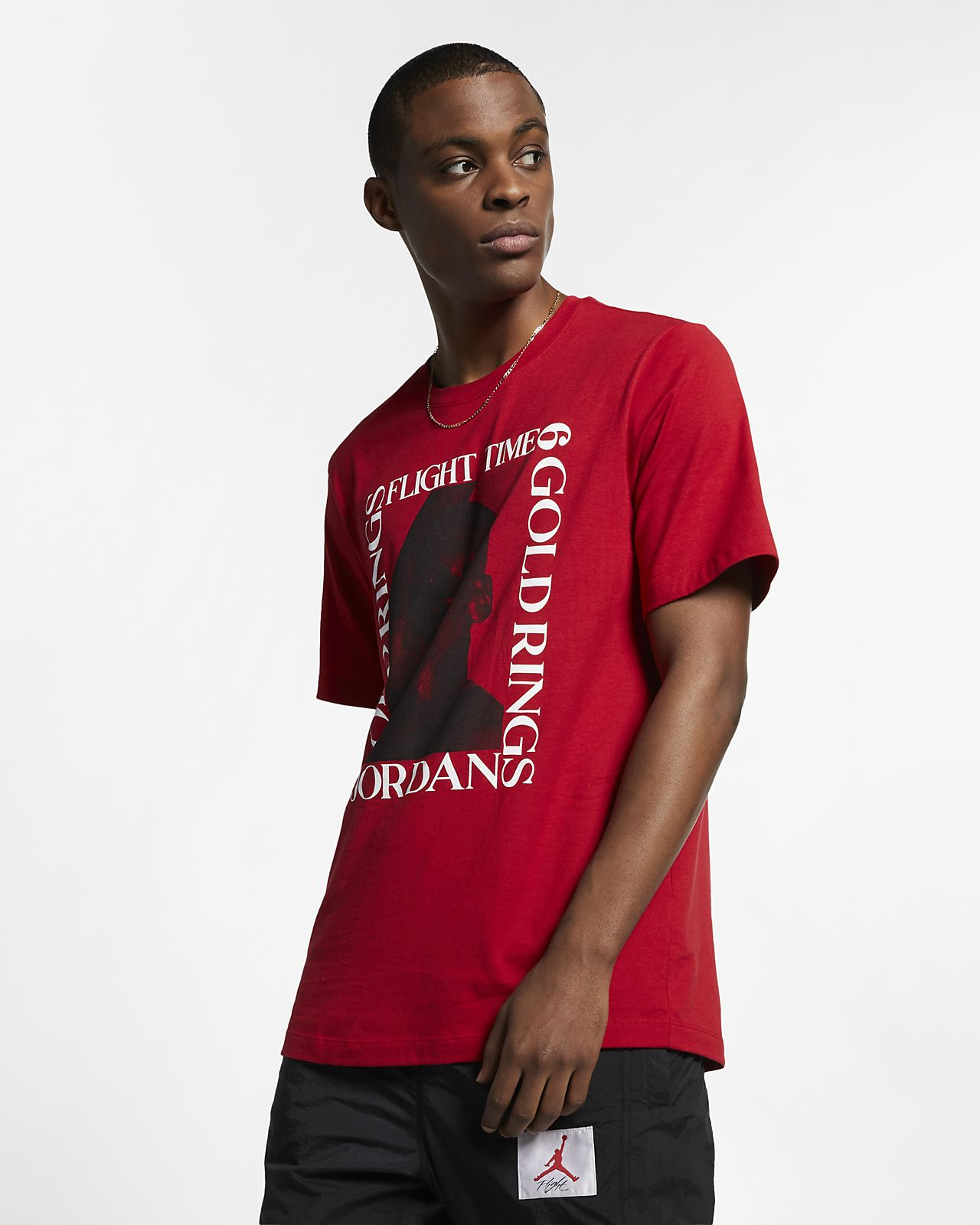 Jordan MJ Flight Time Men's T-Shirt