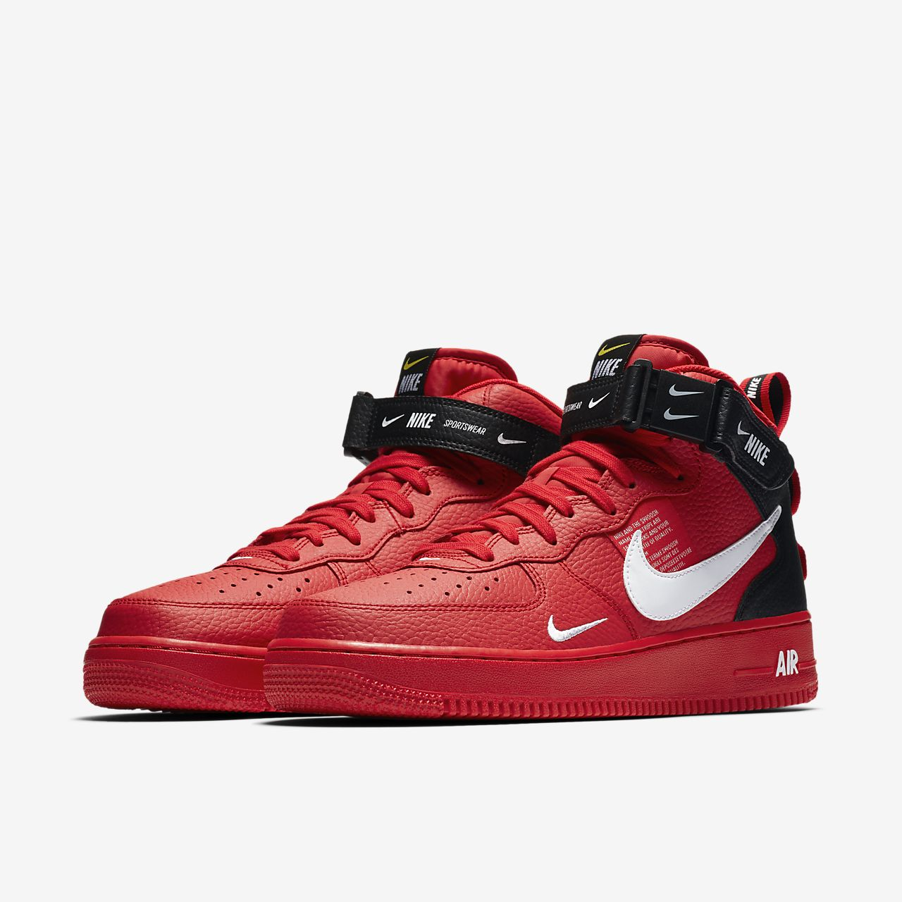 low priced 9c1d6 70d1f ... Scarpa Nike Air Force 1 07 Mid LV8 - Uomo