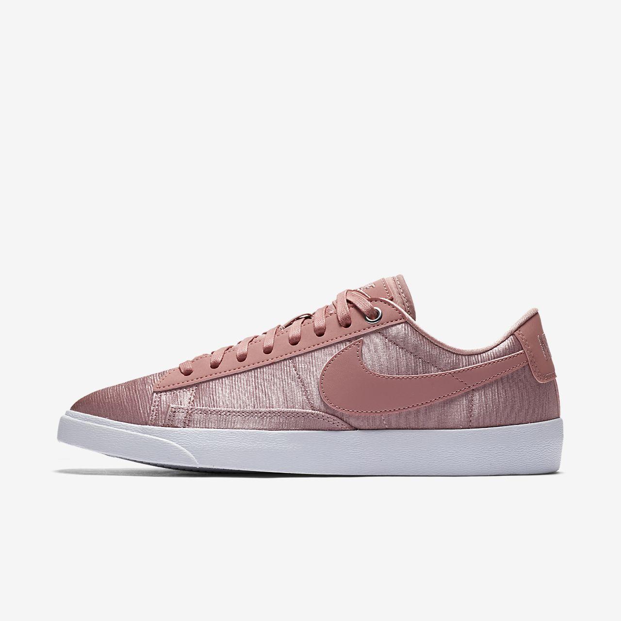 Nike Blazer Low Se Premium - Damen Schuhe Brown Größe 40.5 BXlPB