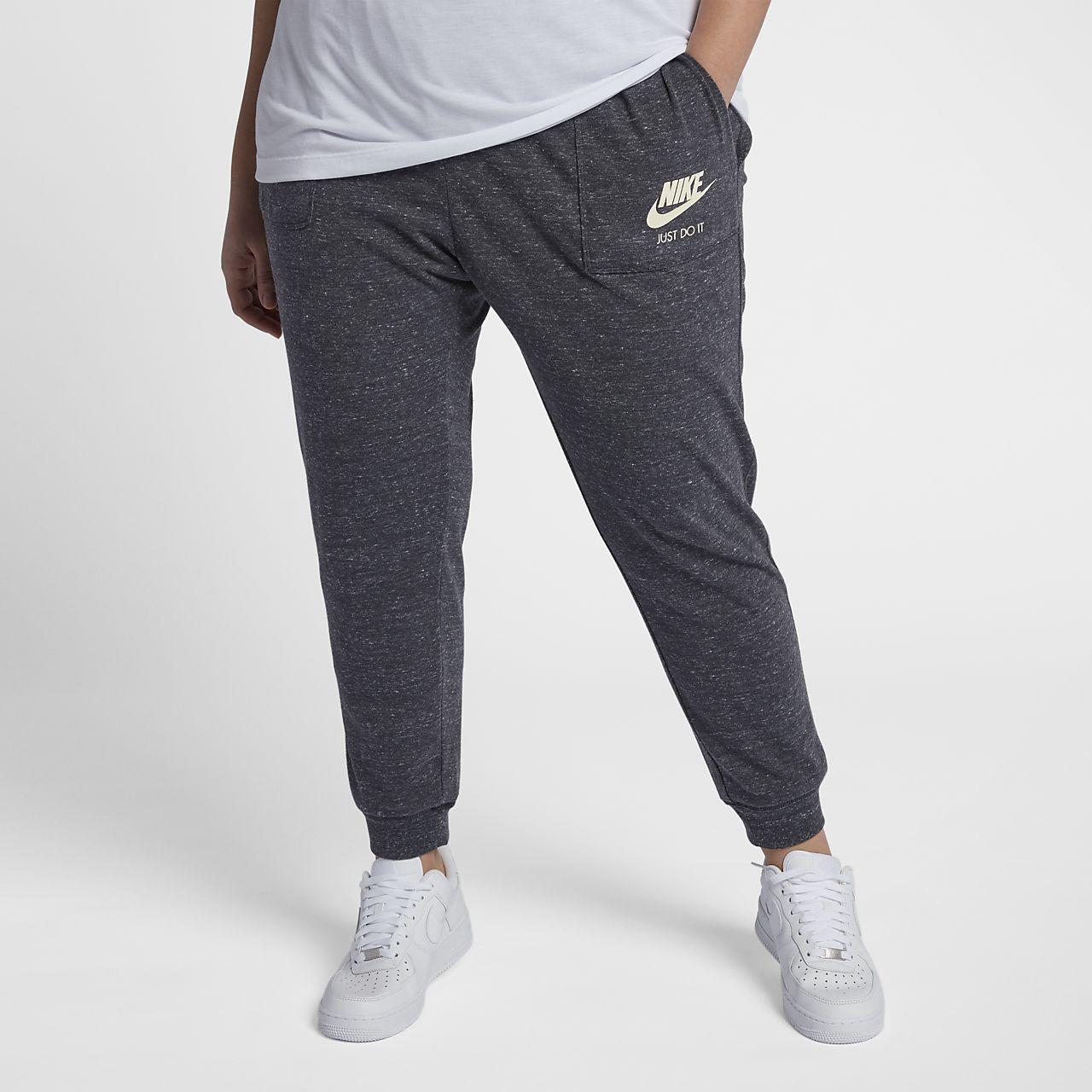 ... Nike Sportswear Gym Vintage Pantalón (Talla grande) - Mujer