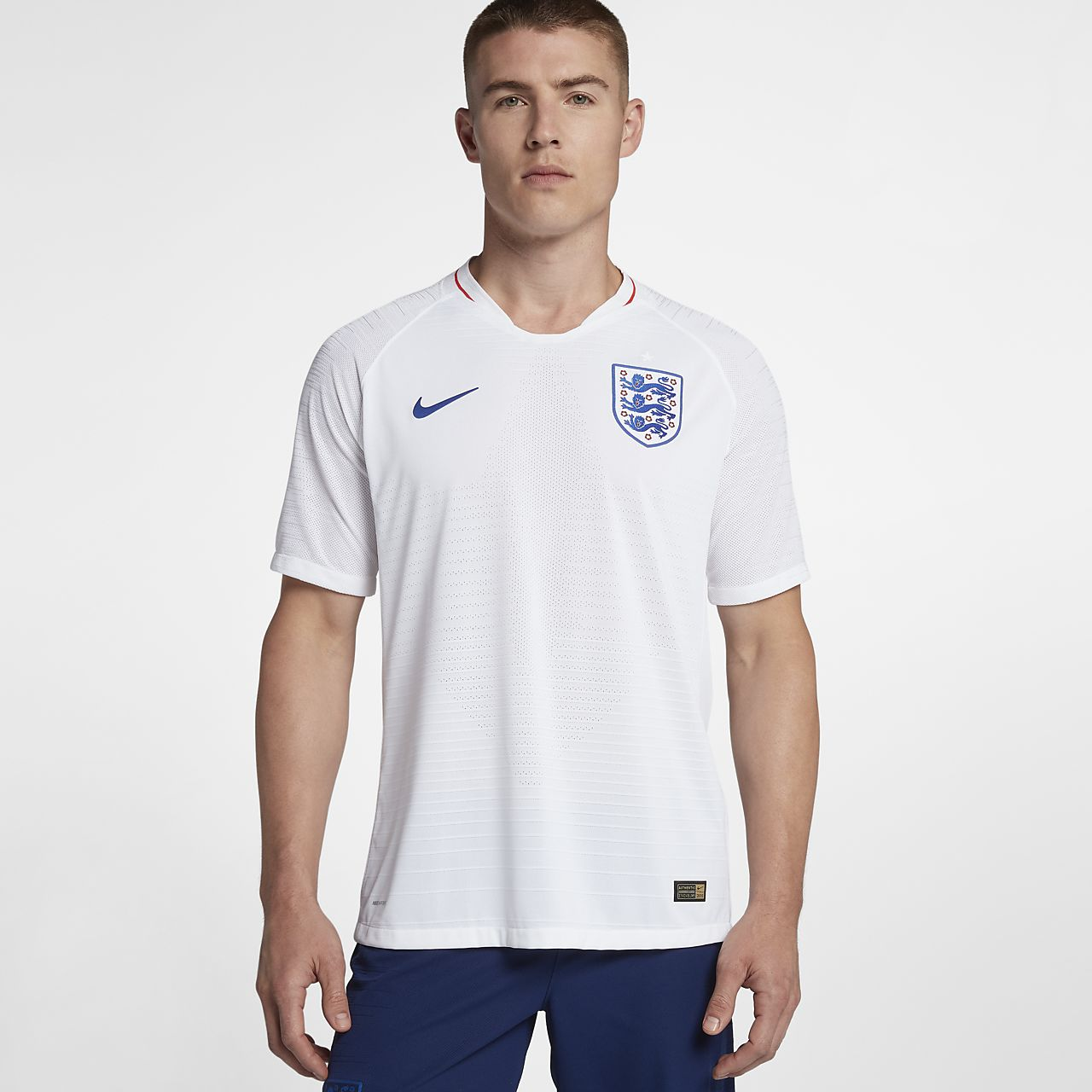 2018 England Vapor Match Home Men's Football Shirt
