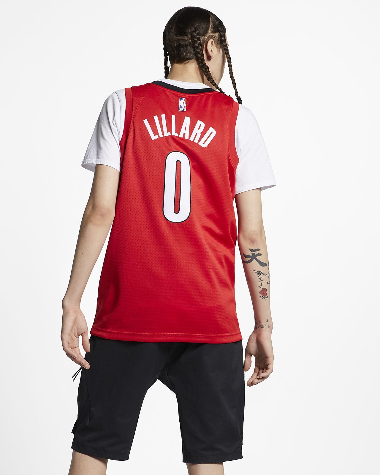2ae4a9864 ... Damian Lillard Earned City Edition Swingman (Portland Trail Blazers)  Men s Nike NBA Connected Jersey