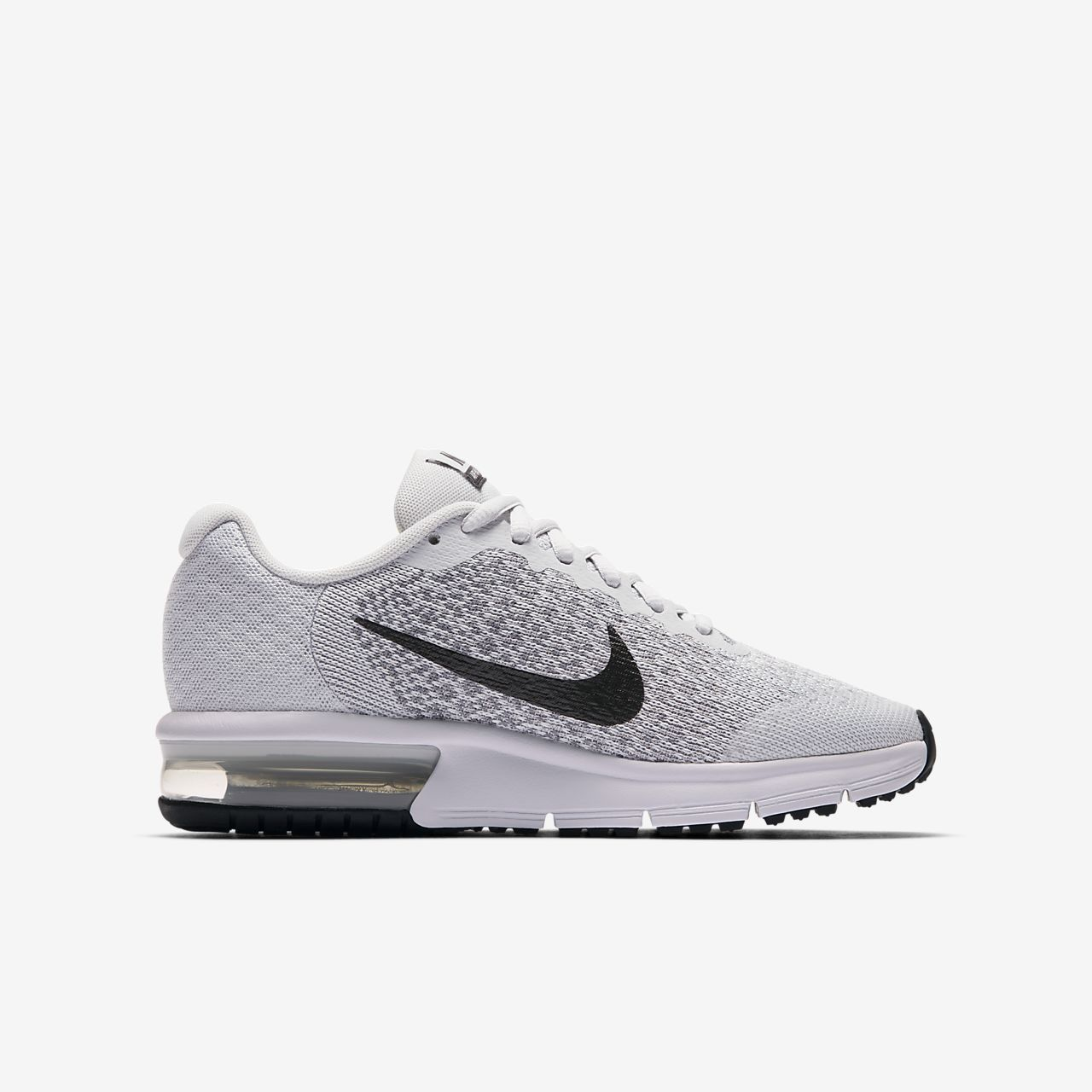 Achat Nike Air Max Sequent 2 Homme Chaussures White Black