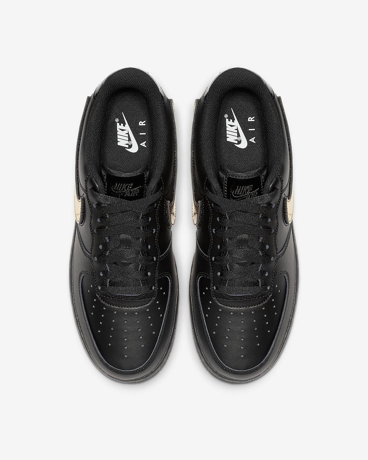 Nike Air Force 1'07 LV8 3 BLACK BLACK WHITE MEN'S Scarpe Da Ginnastica Tutte Le Taglie