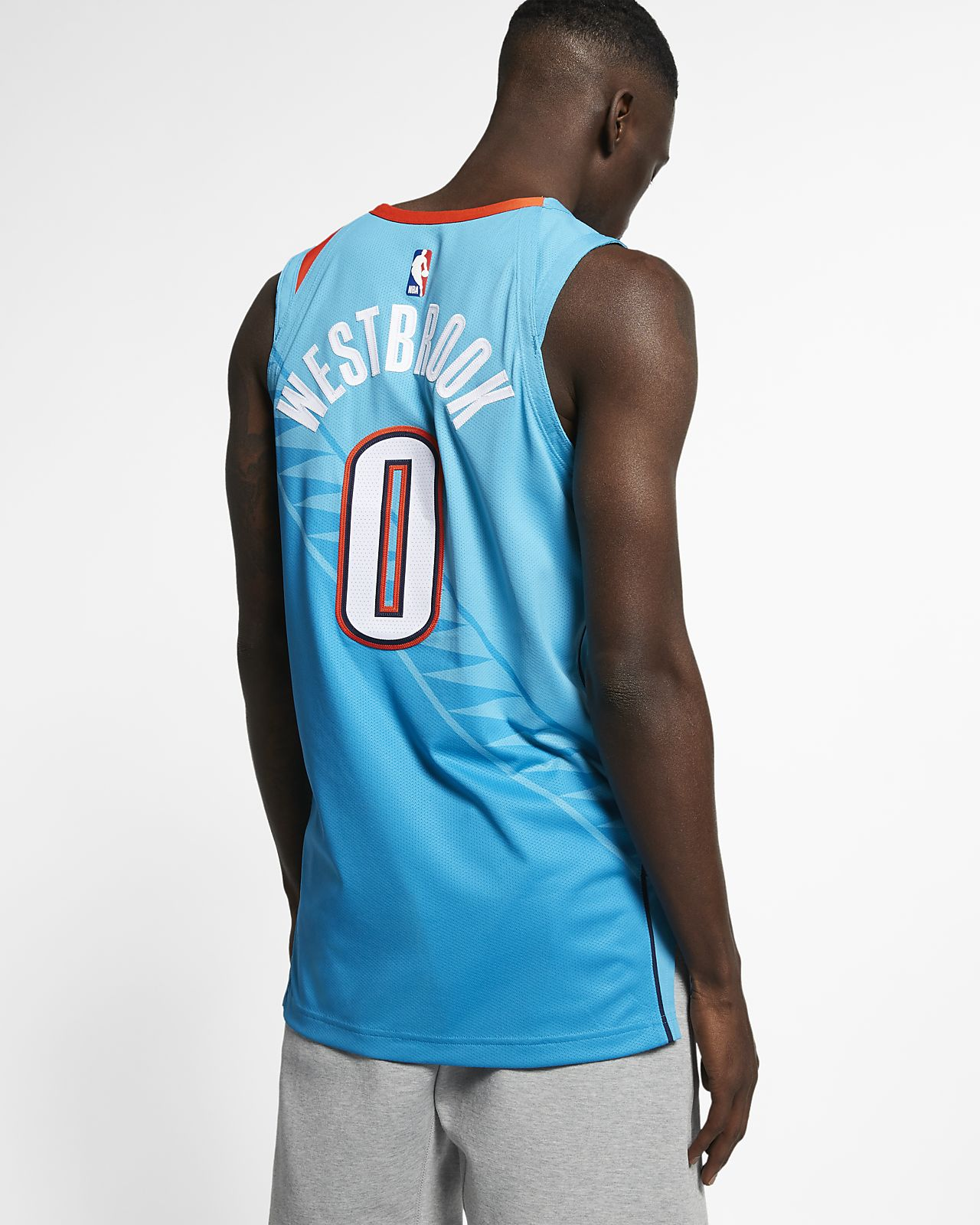 a16bb04b8cc5 ... Russell Westbrook City Edition Authentic (Oklahoma City Thunder) Men s  Nike NBA Connected Jersey