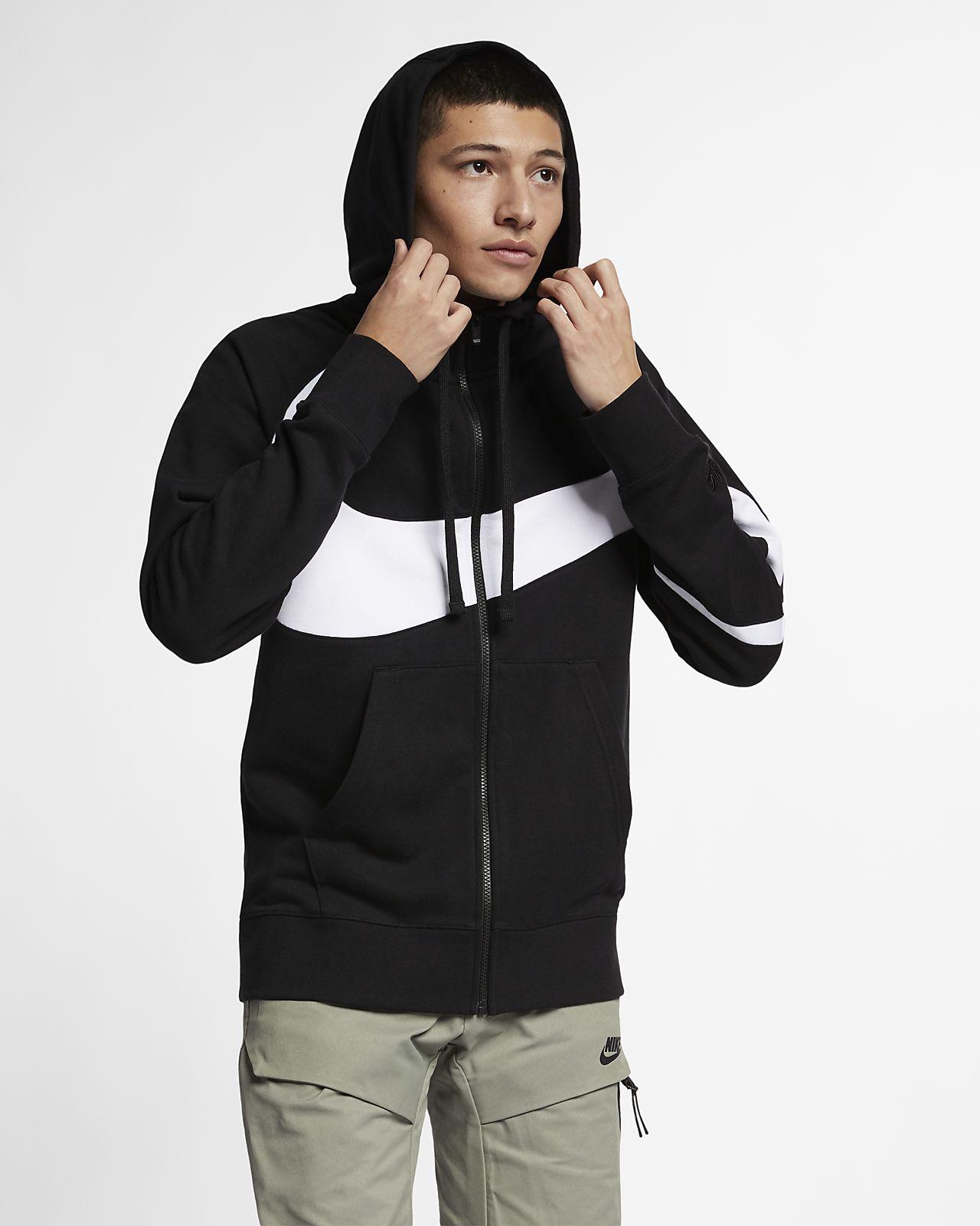 Sweat à capuche en molleton entièrement zippé Nike Sportswear pour Homme