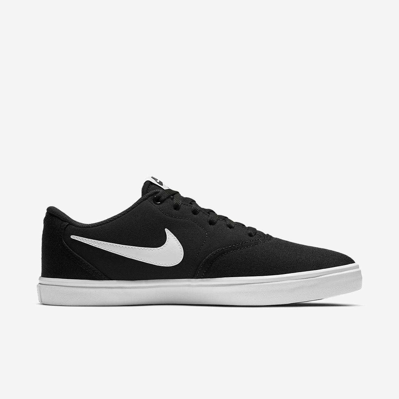 Nike Sb Check Solarsoft Canvas Men S Skateboarding Shoe