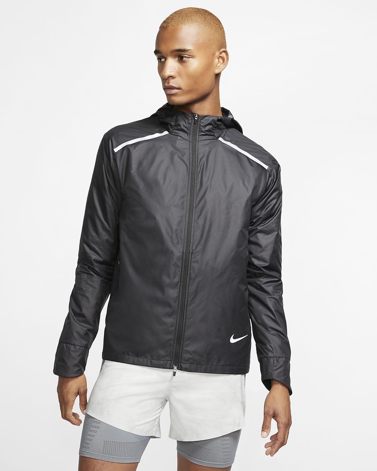Veste de running à capuche Nike Repel pour Homme