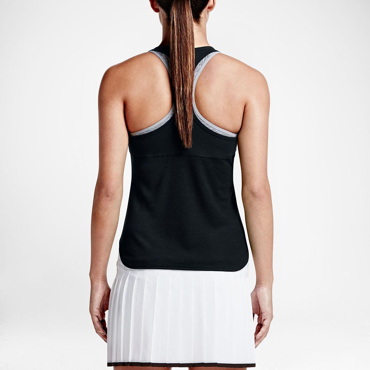 ... NikeCourt Dry Slam Women's Tennis Tank