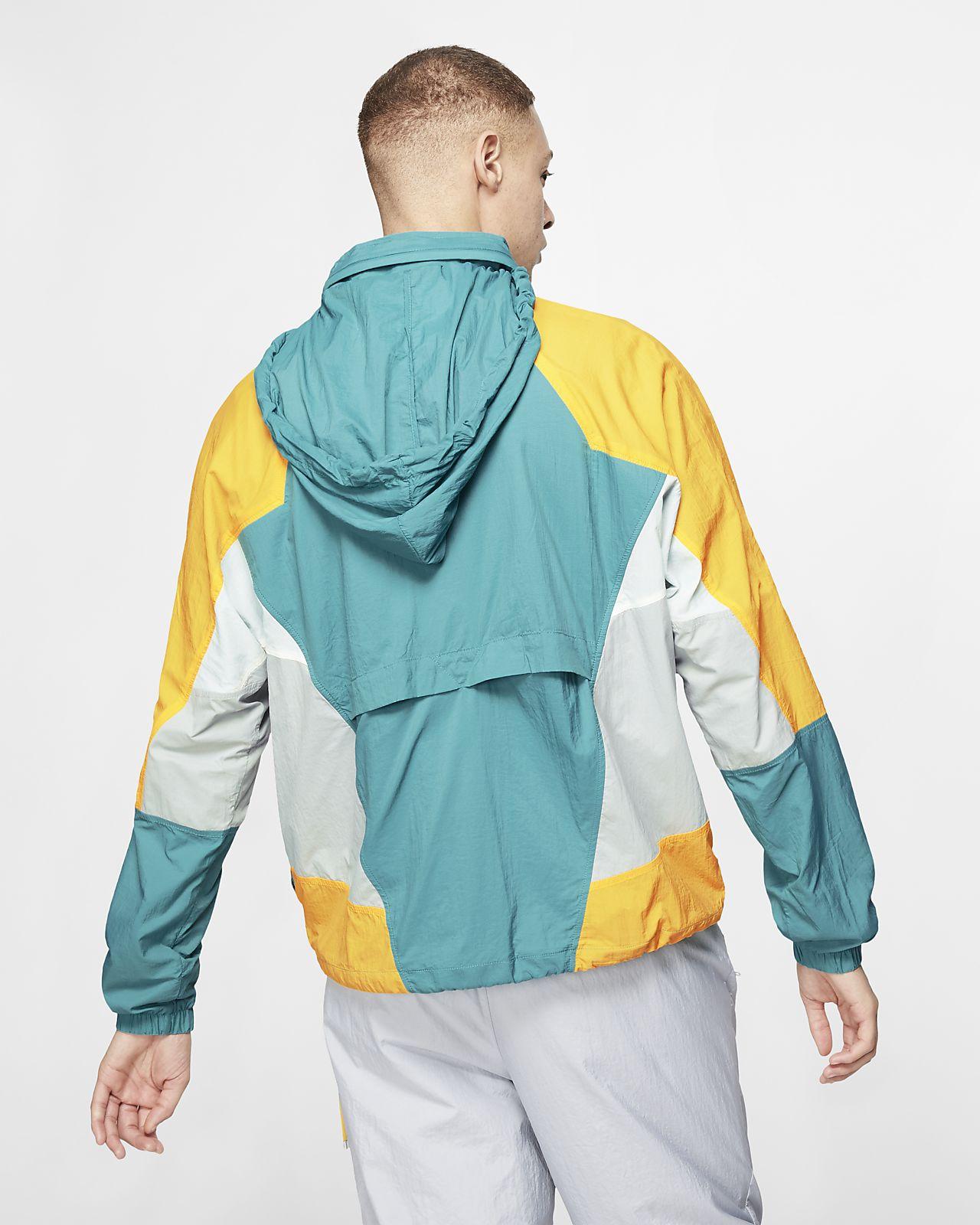 Capucha Nike De Tejido Hombre Chaqueta Sportswear Con Woven kwnP80OX