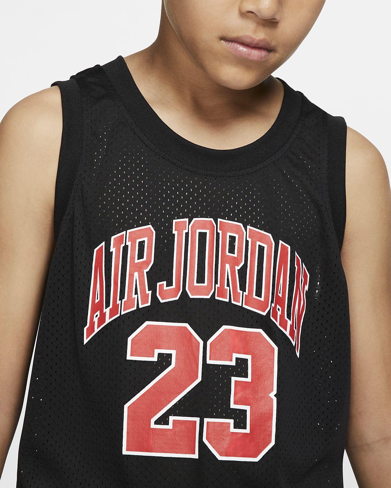 e5b601a32a0 Air Jordan Dri-FIT Older Kids' (Boys') Jersey. Nike.com CZ