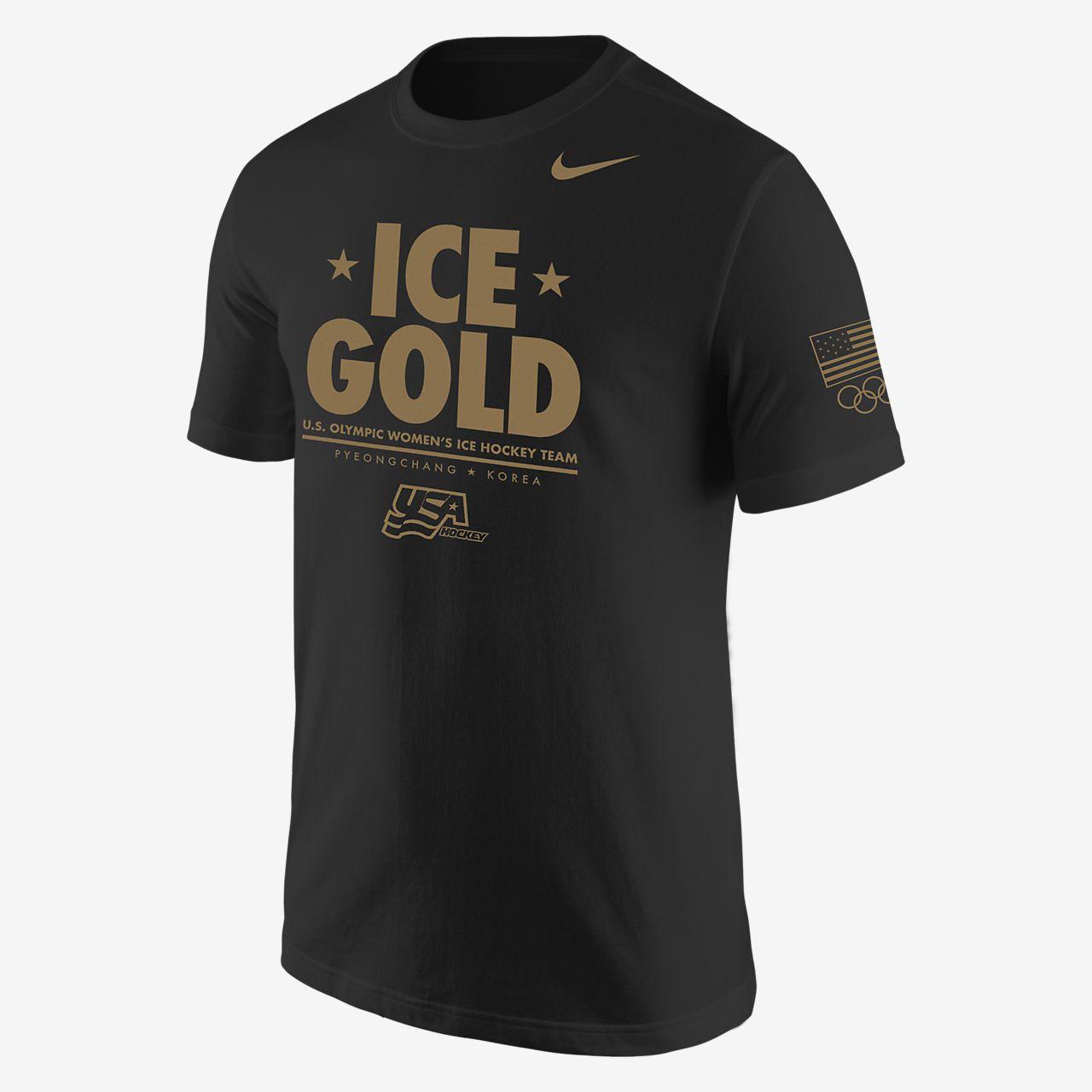 "Nike Hockey Team USA ""Ice Gold"" Men's T-Shirt"