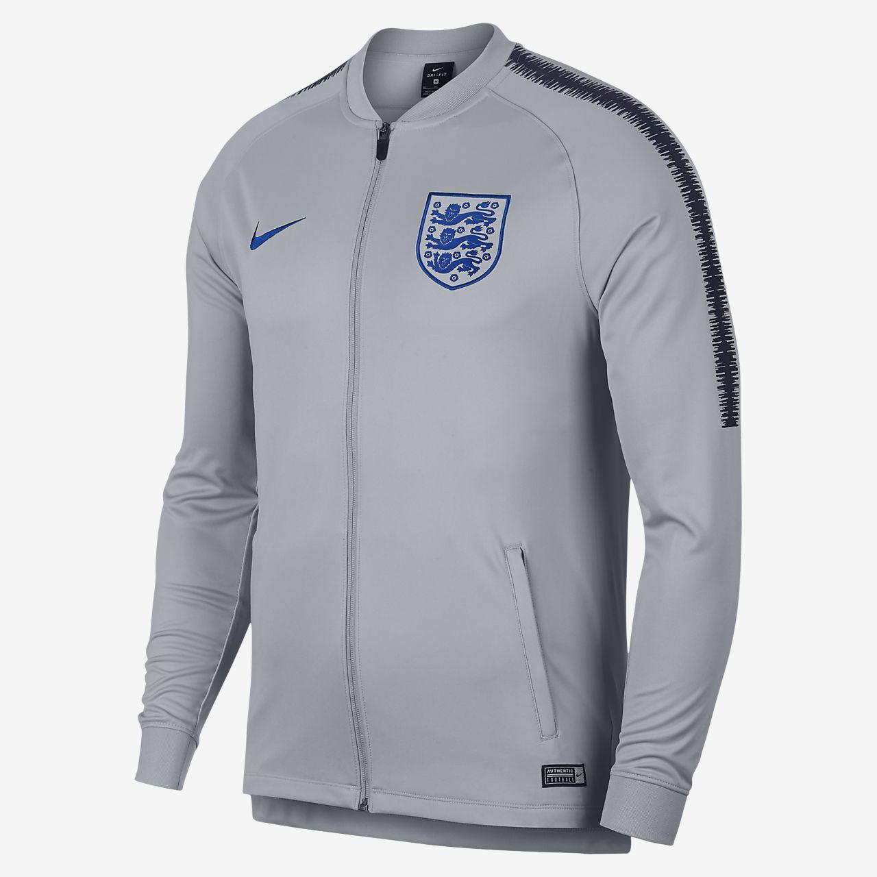 England Dri-FIT Squad Chaqueta deportiva - Hombre. Nike.com ES f7e21ff13e678