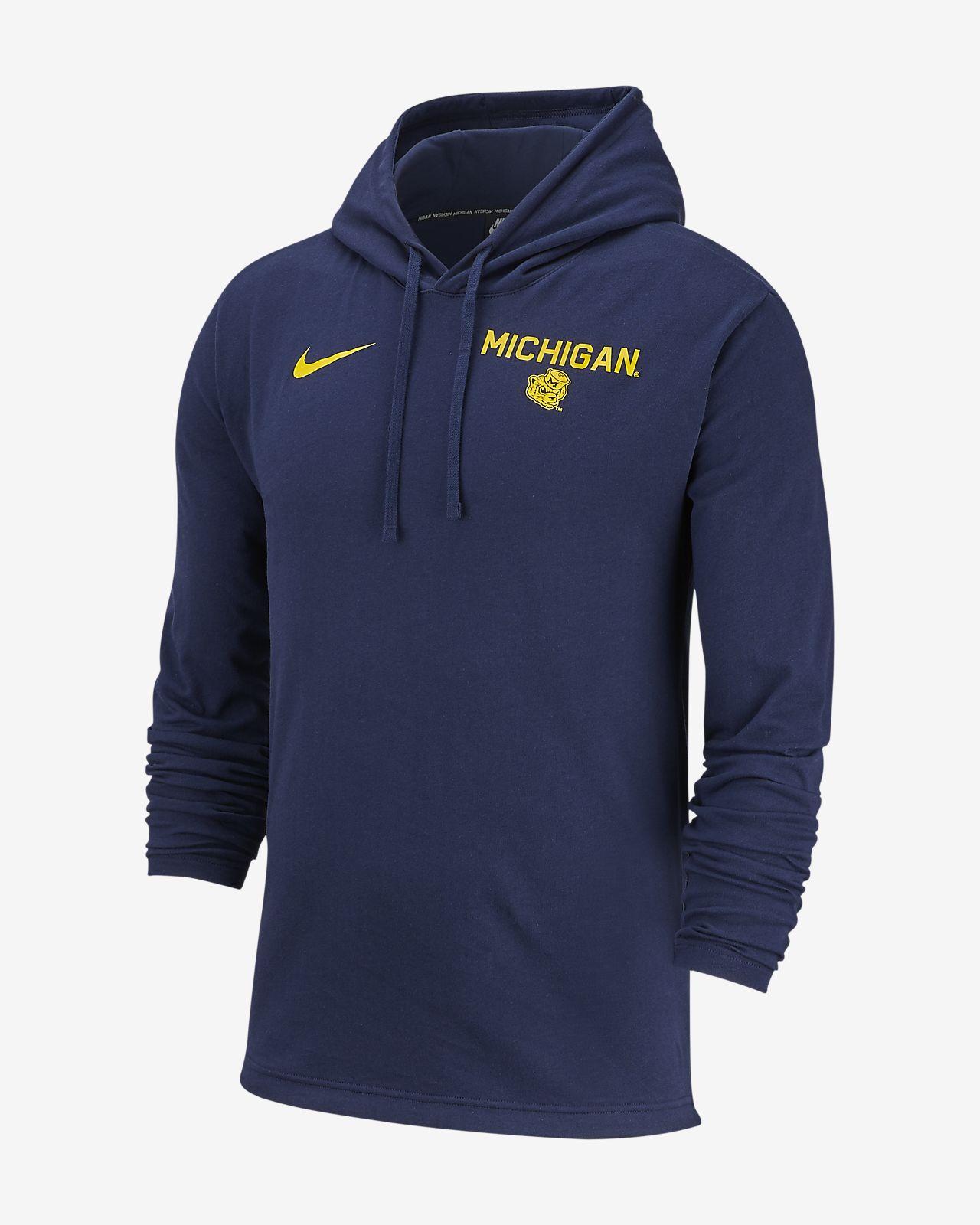 Nike College (Michigan) Men's Pullover Hoodie