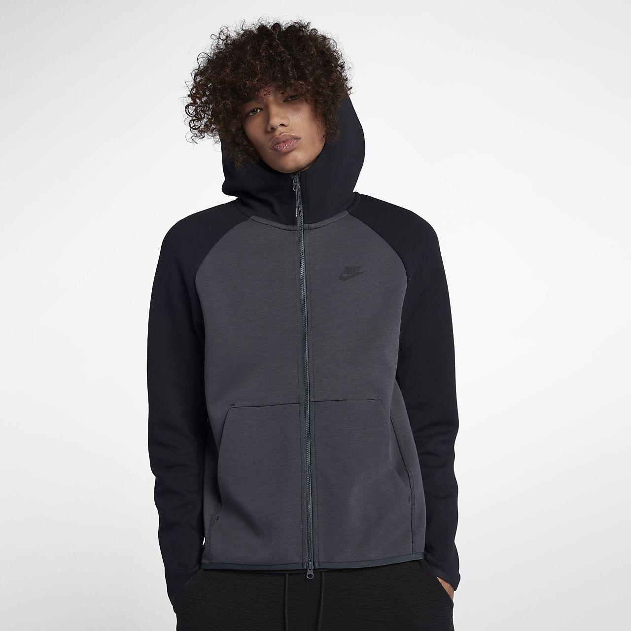 63369fd7b1 ... Nike Sportswear Tech Fleece hosszú cipzáras férfi kapucnis pulóver
