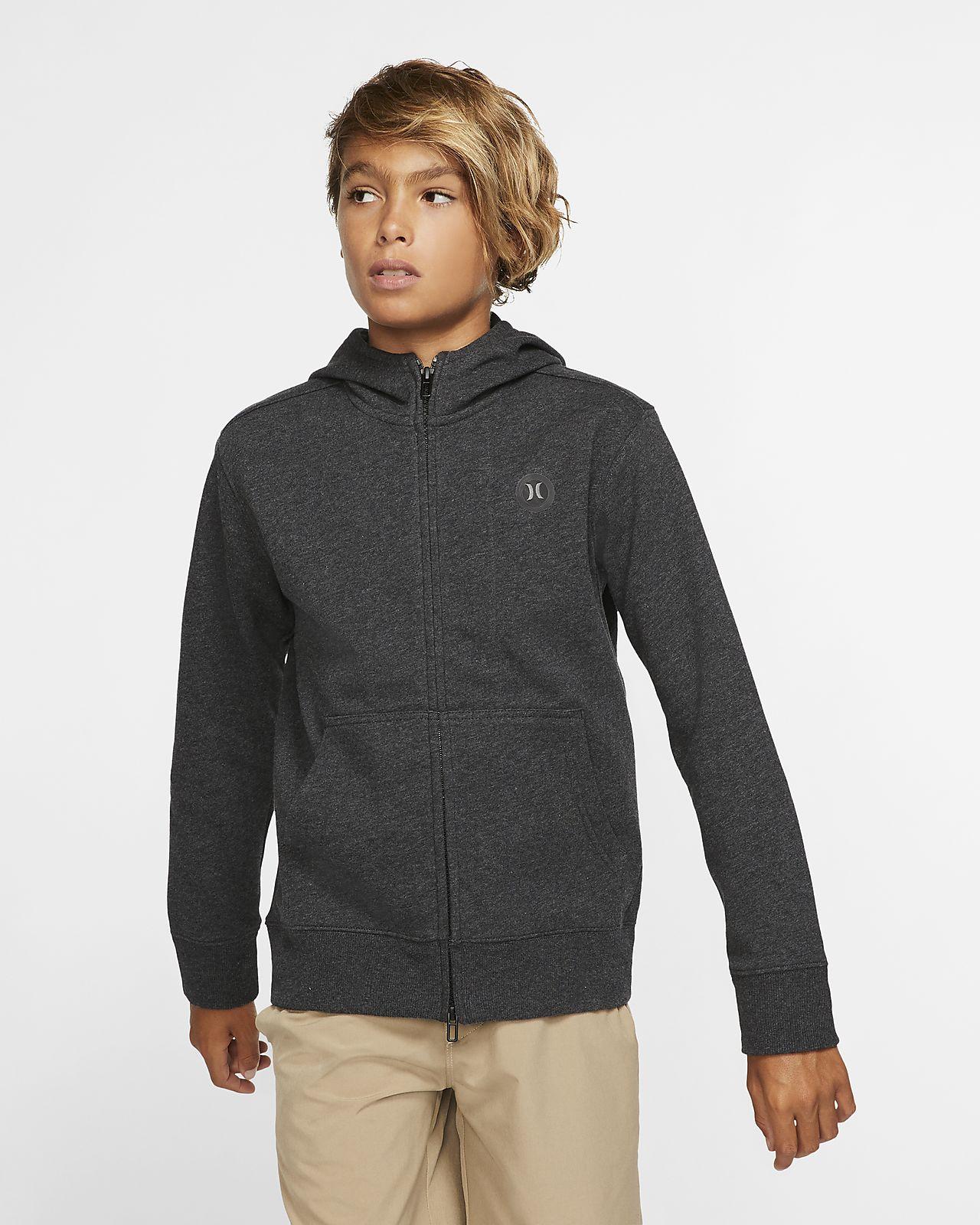 Hurley Therma Protect Boys' Full-Zip Fleece Hoodie