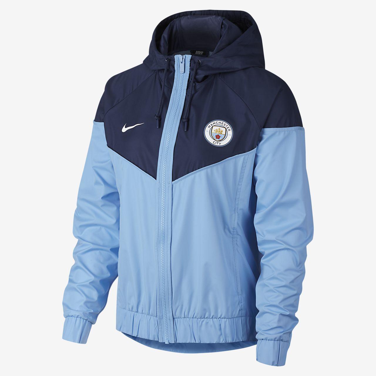 fab232333d94 Manchester City FC Windrunner Women s Jacket. Nike.com LU