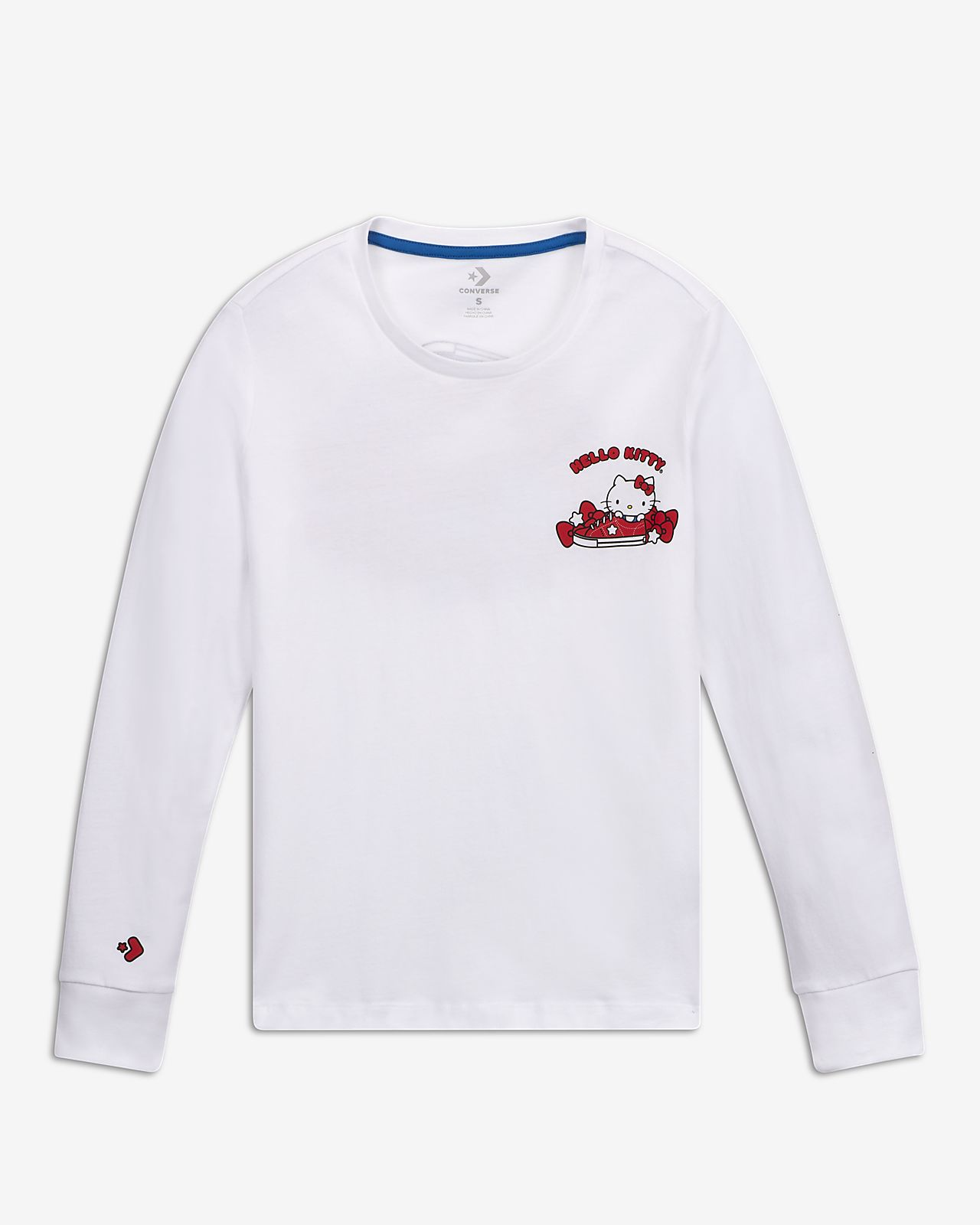 Converse x Hello Kitty Shoe Pile Women's Long-Sleeve T-Shirt