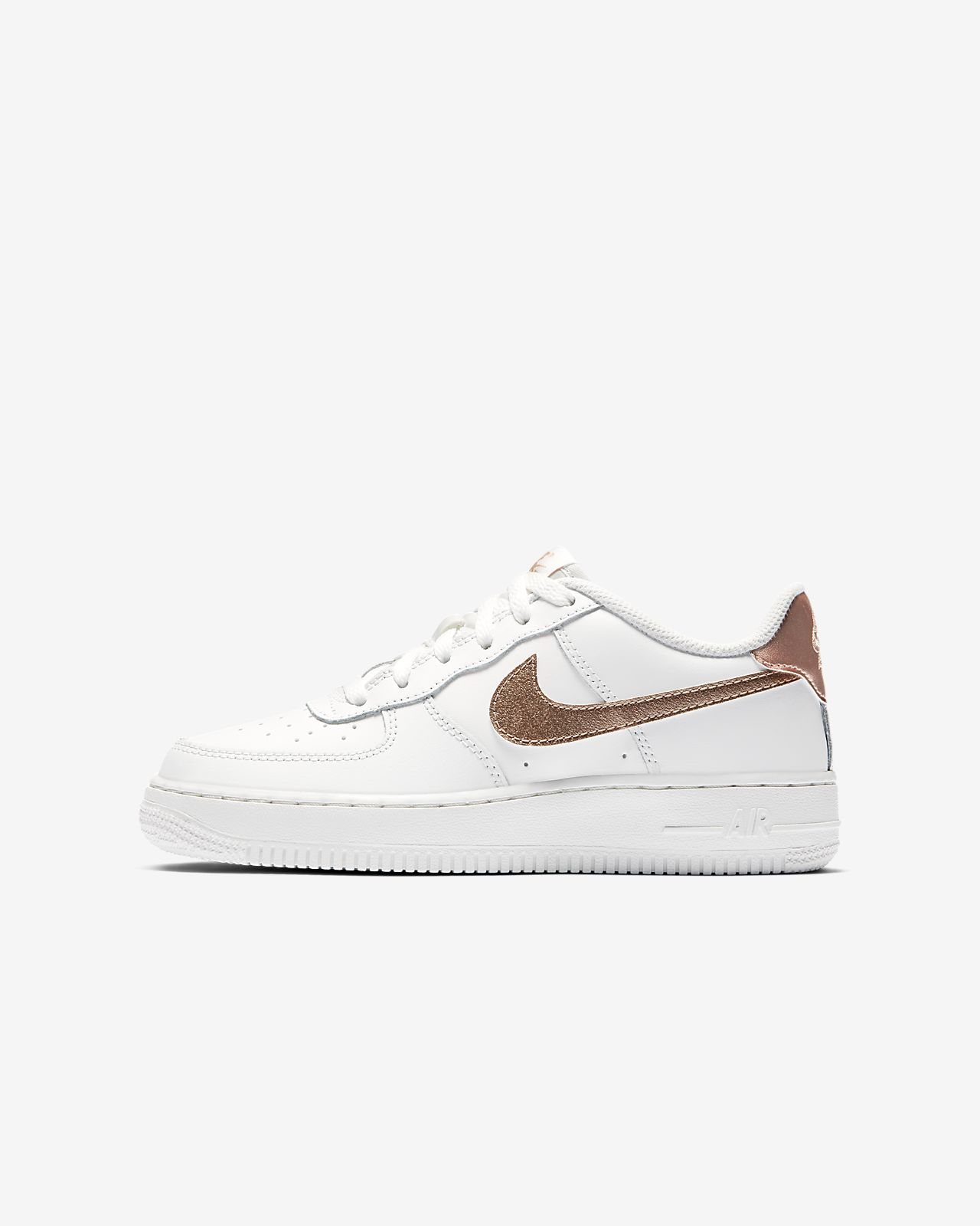 nike air force 1 metallic