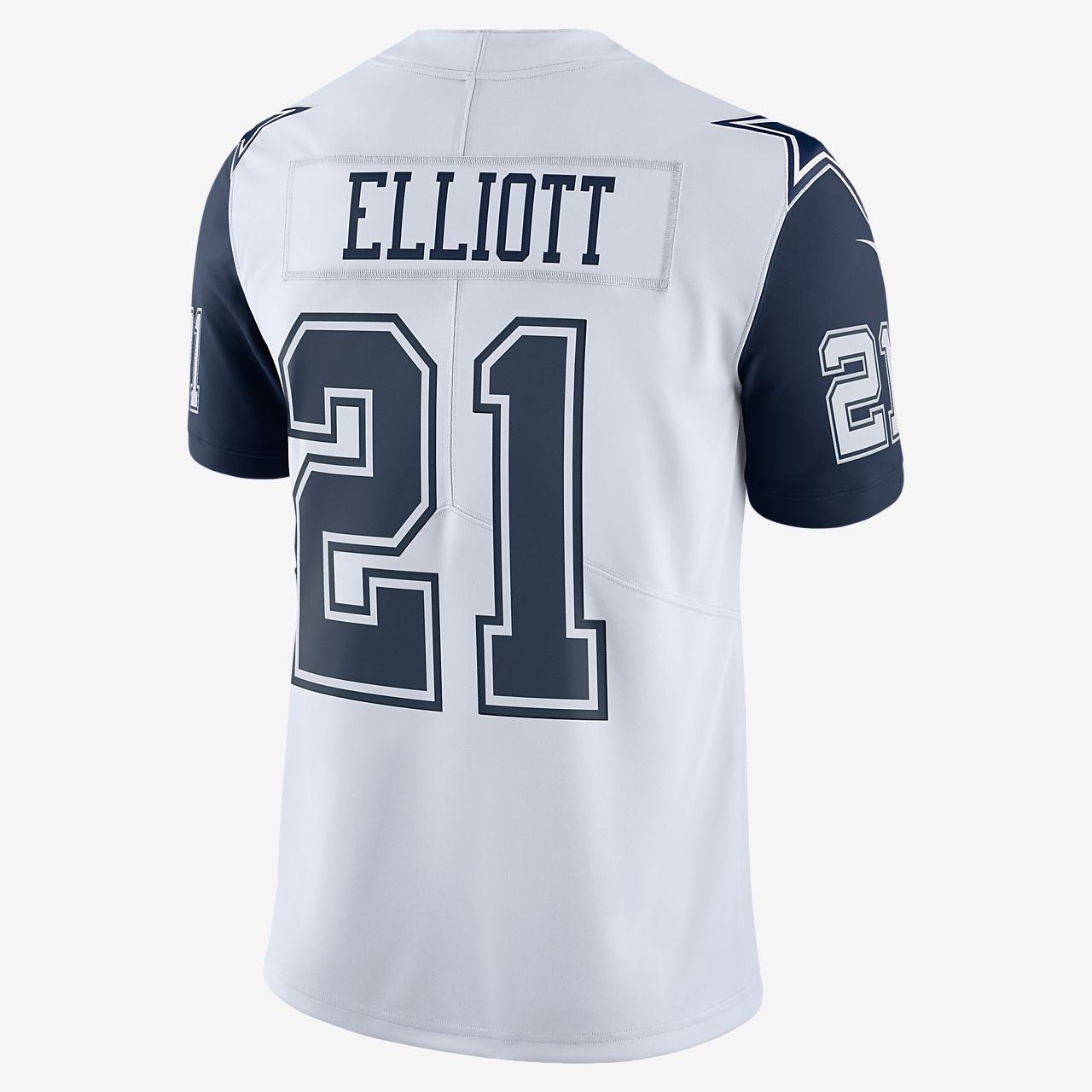 3fbd5f74a9f25 ... Camiseta de fútbol americano para hombre NFL Dallas Cowboys Color Rush  Limited (Ezekiel Elliott)