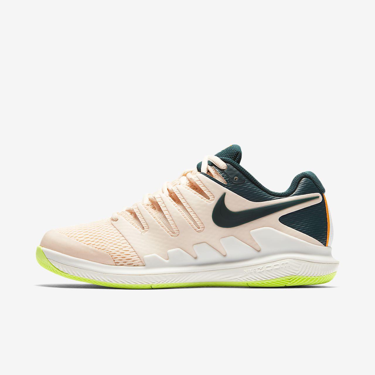 NikeCourt Air Zoom Vapor X Women s Hard Court Tennis Shoe. Nike.com MA 156ec5a40103a
