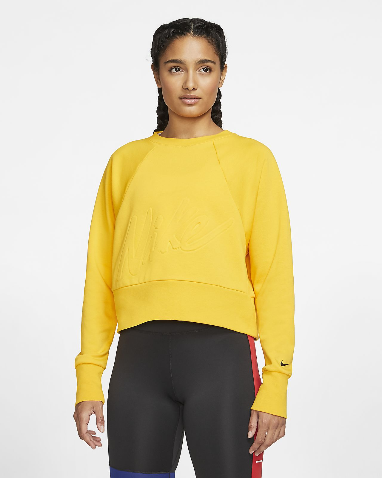 Haut de training en tissu Fleece Nike Dri-FIT Get Fit pour Femme