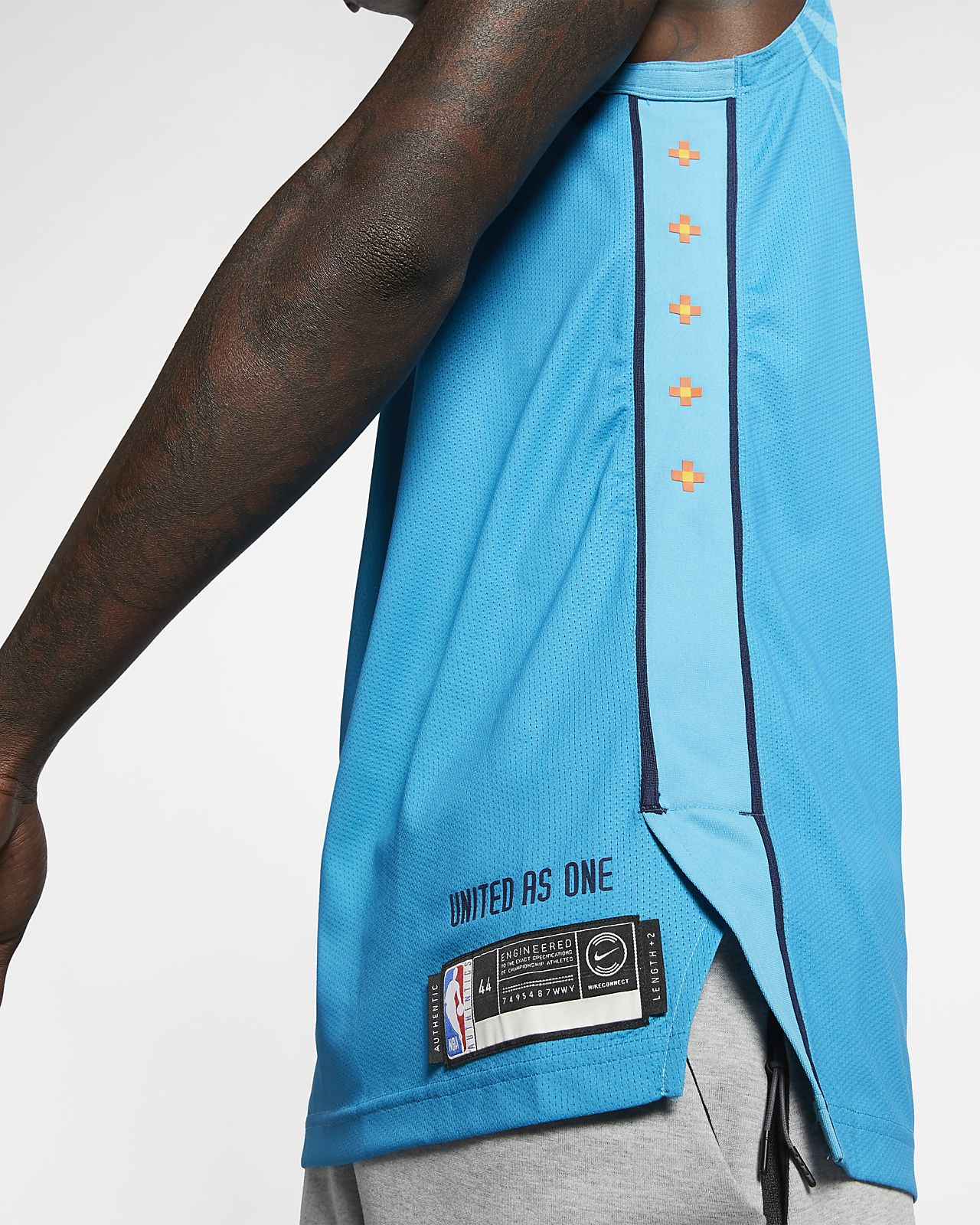 a0abd34e840 ... Russell Westbrook City Edition Authentic (Oklahoma City Thunder) Men's  Nike NBA Connected Jersey