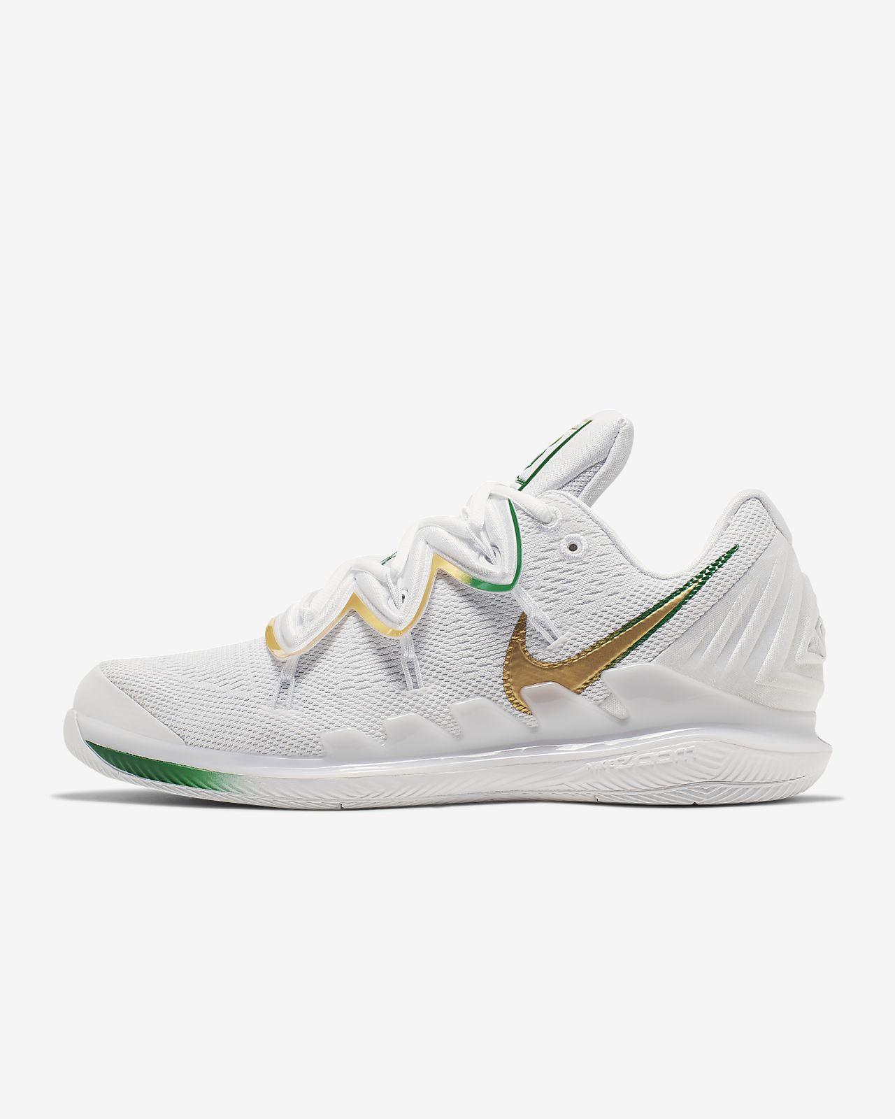 Tennissko för hårt underlag NikeCourt Air Zoom Vapor X Kyrie 5 för män