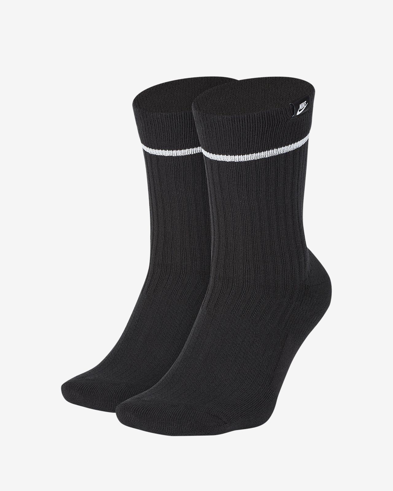 NikeLab Sneaker Sox Essential Crew Socks (2 Pairs)
