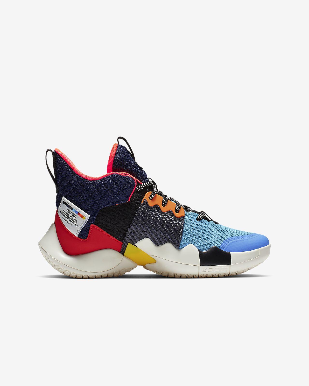 innovative design c3ba5 c0b74 ... Jordan  Why Not   Zer0.2 Older Kids  Basketball Shoe