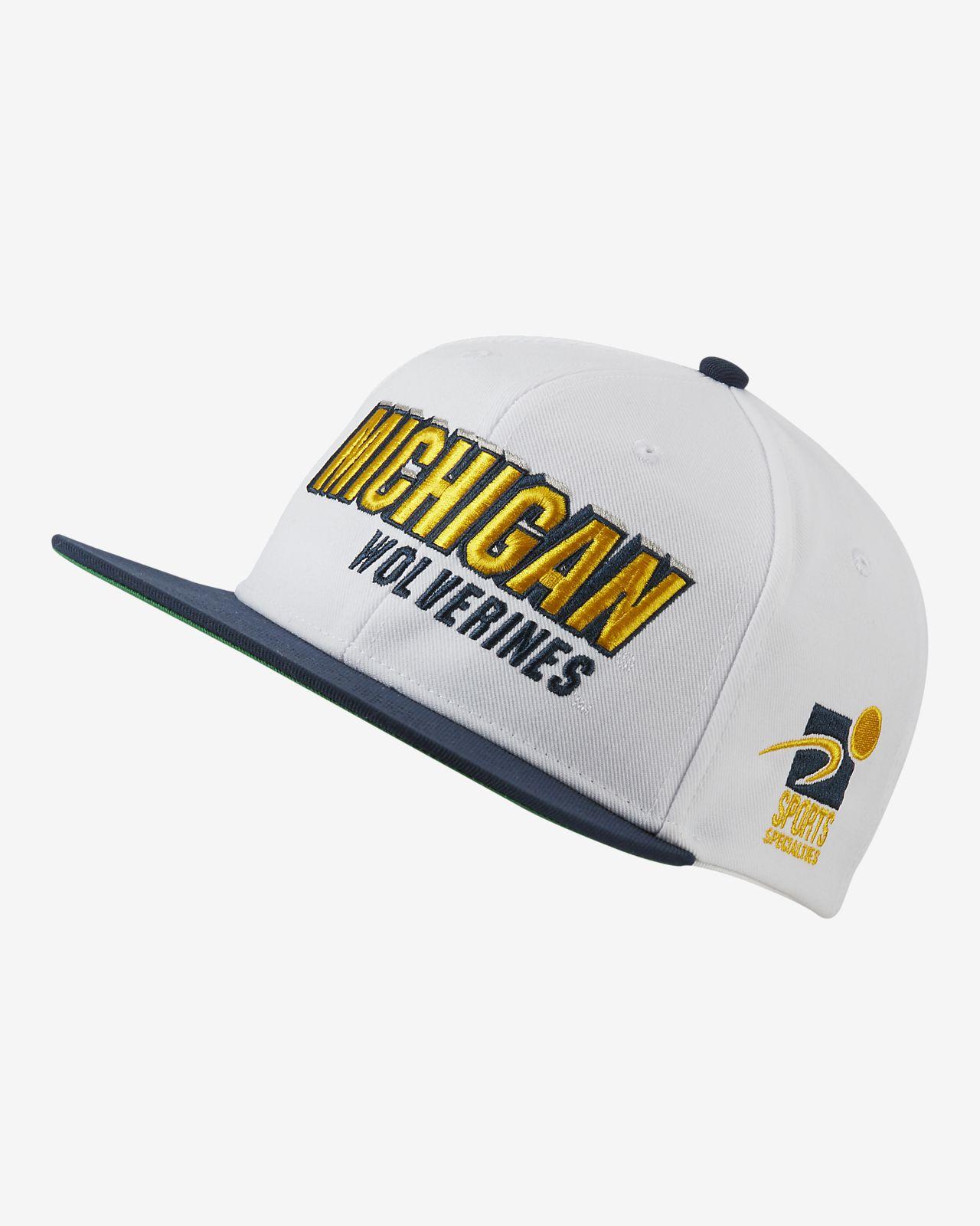 Nike Pro Sports Specialties (Michigan) Adjustable Hat
