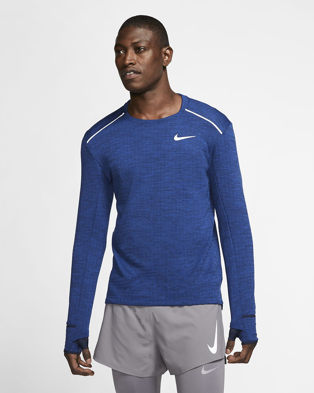 Pánské běžecké tričko Nike Therma Sphere 3.0 s dlouhým rukávem